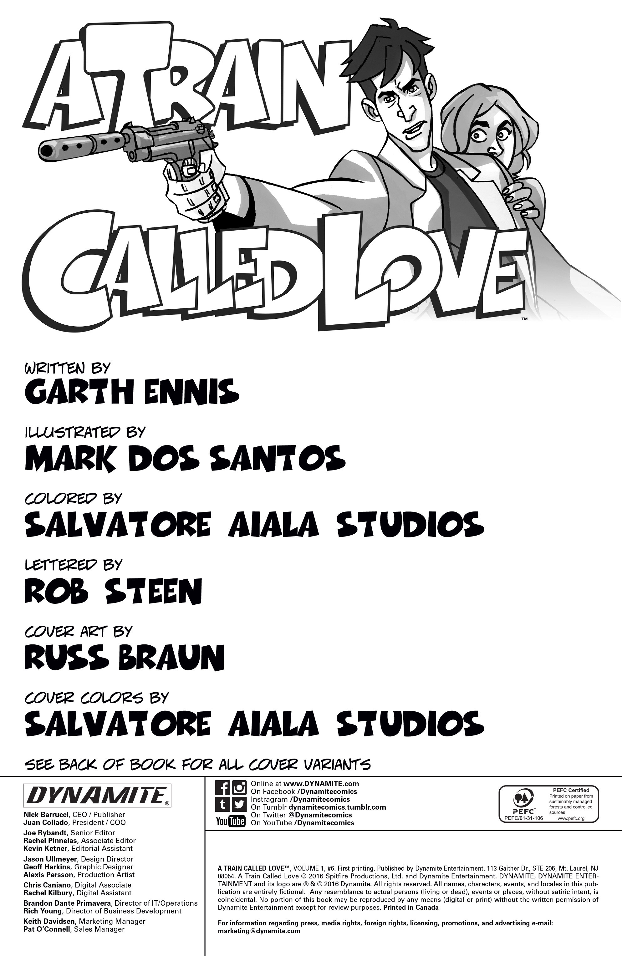 Read online A Train Called Love comic -  Issue #6 - 2
