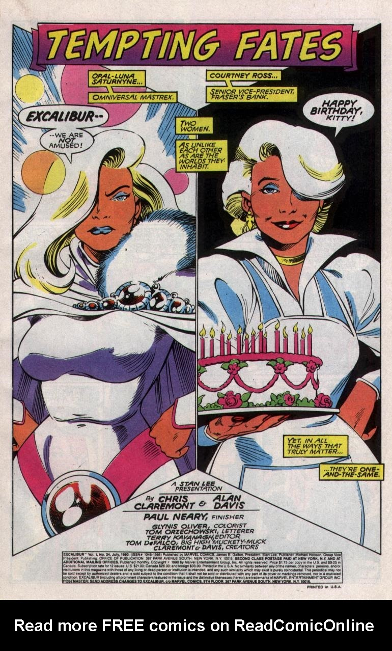 Excalibur (1988) issue 24 - Page 2