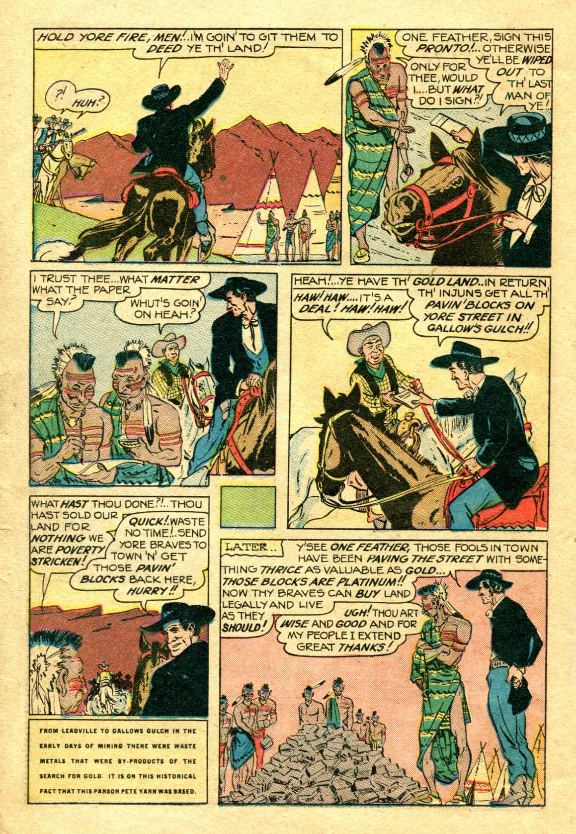 Read online Shadow Comics comic -  Issue #75 - 21
