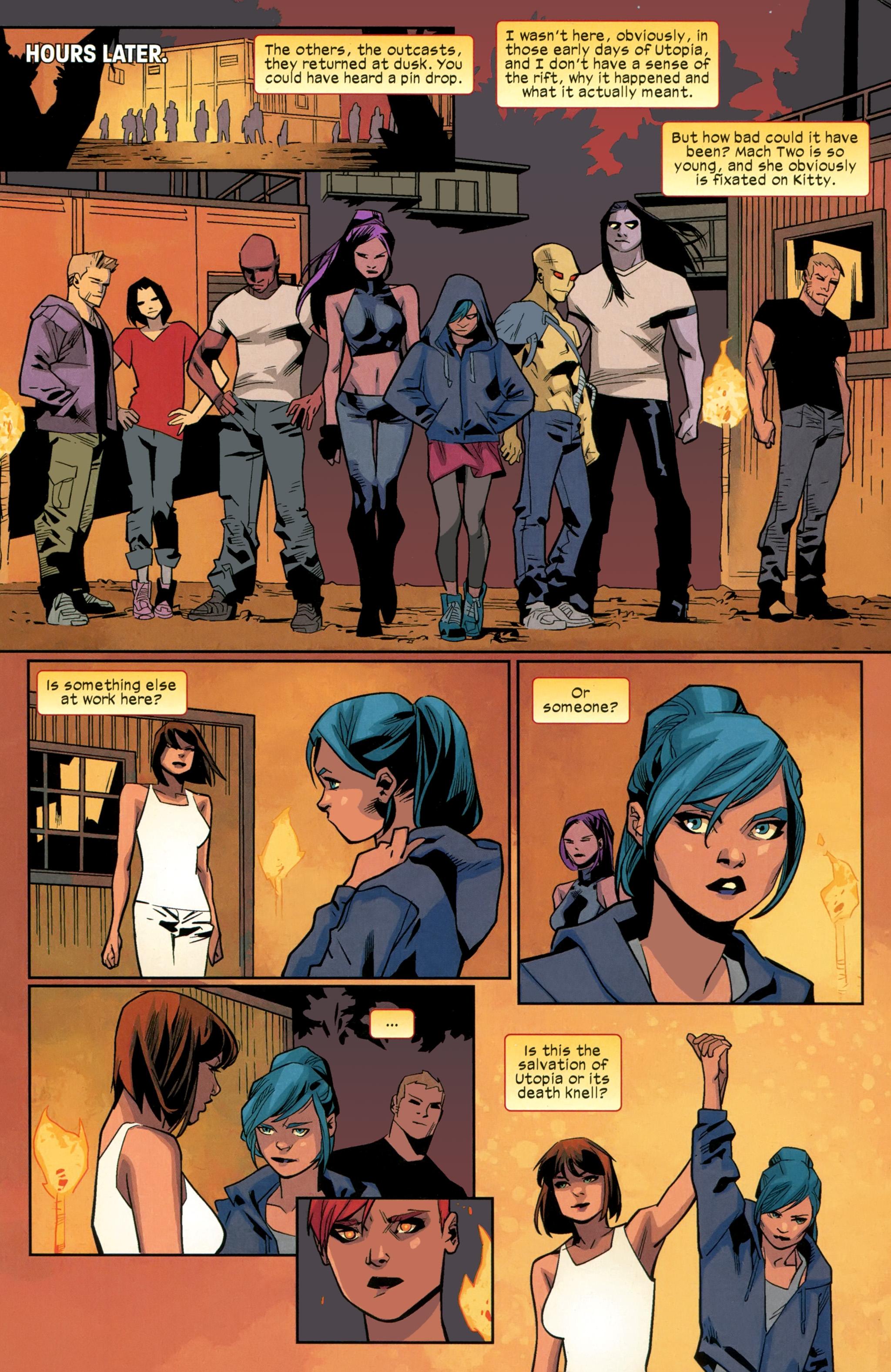Read online Ultimate Comics X-Men comic -  Issue #26 - 19