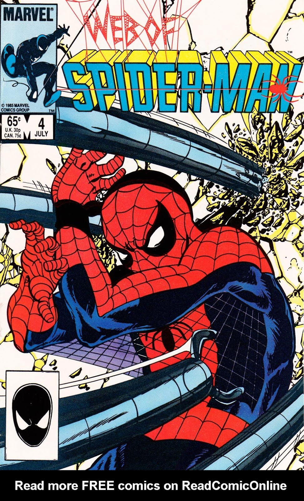 Web of Spider-Man (1985) 4 Page 1