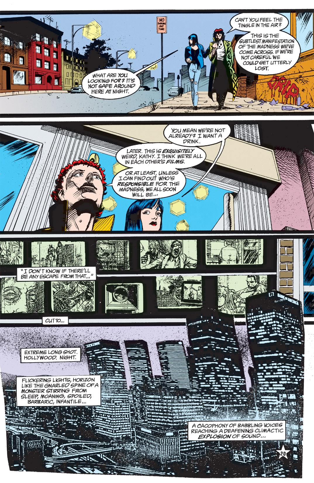Read online Shade, the Changing Man comic -  Issue #5 - 22