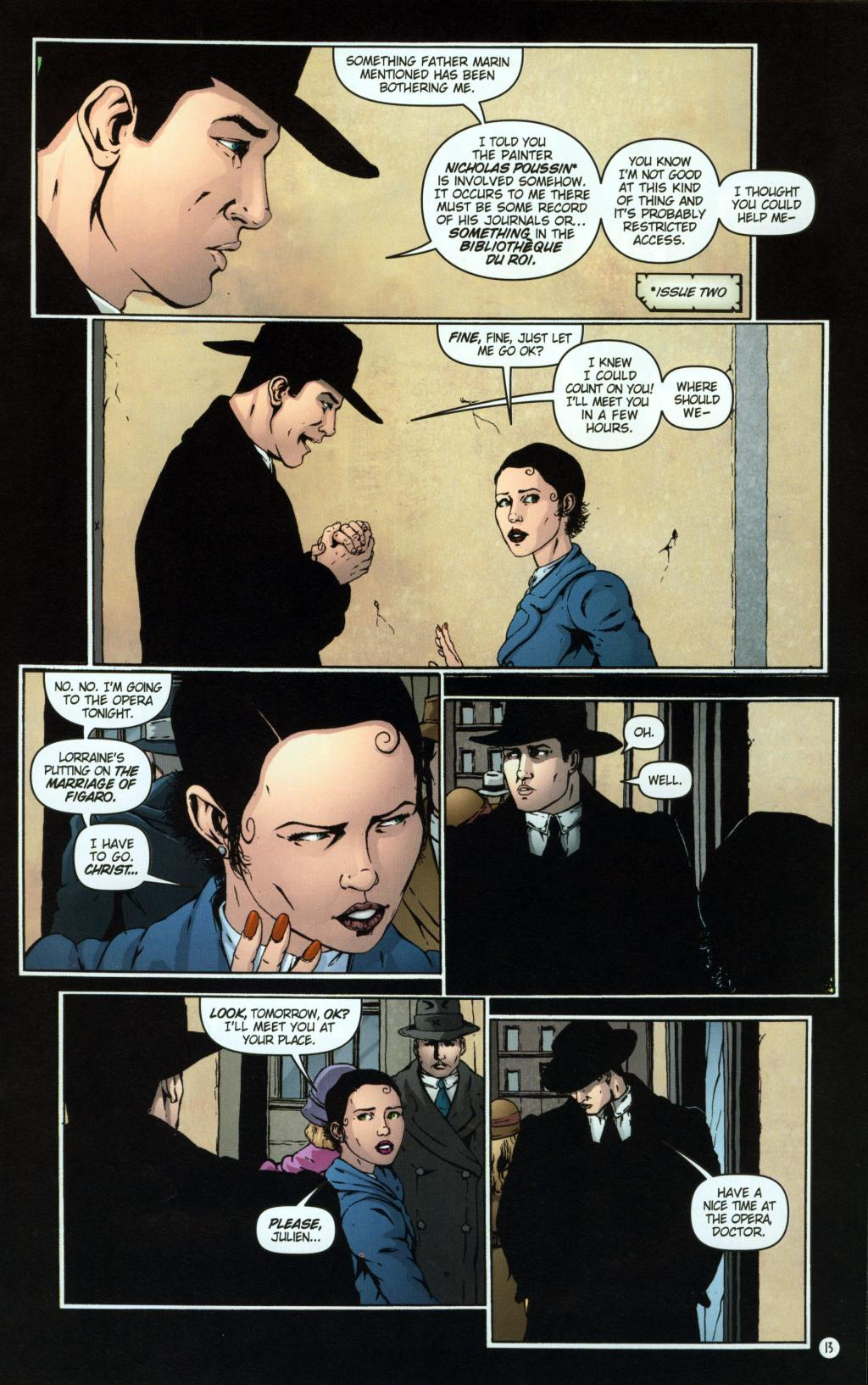 Read online Rex Mundi comic -  Issue #8 - 17