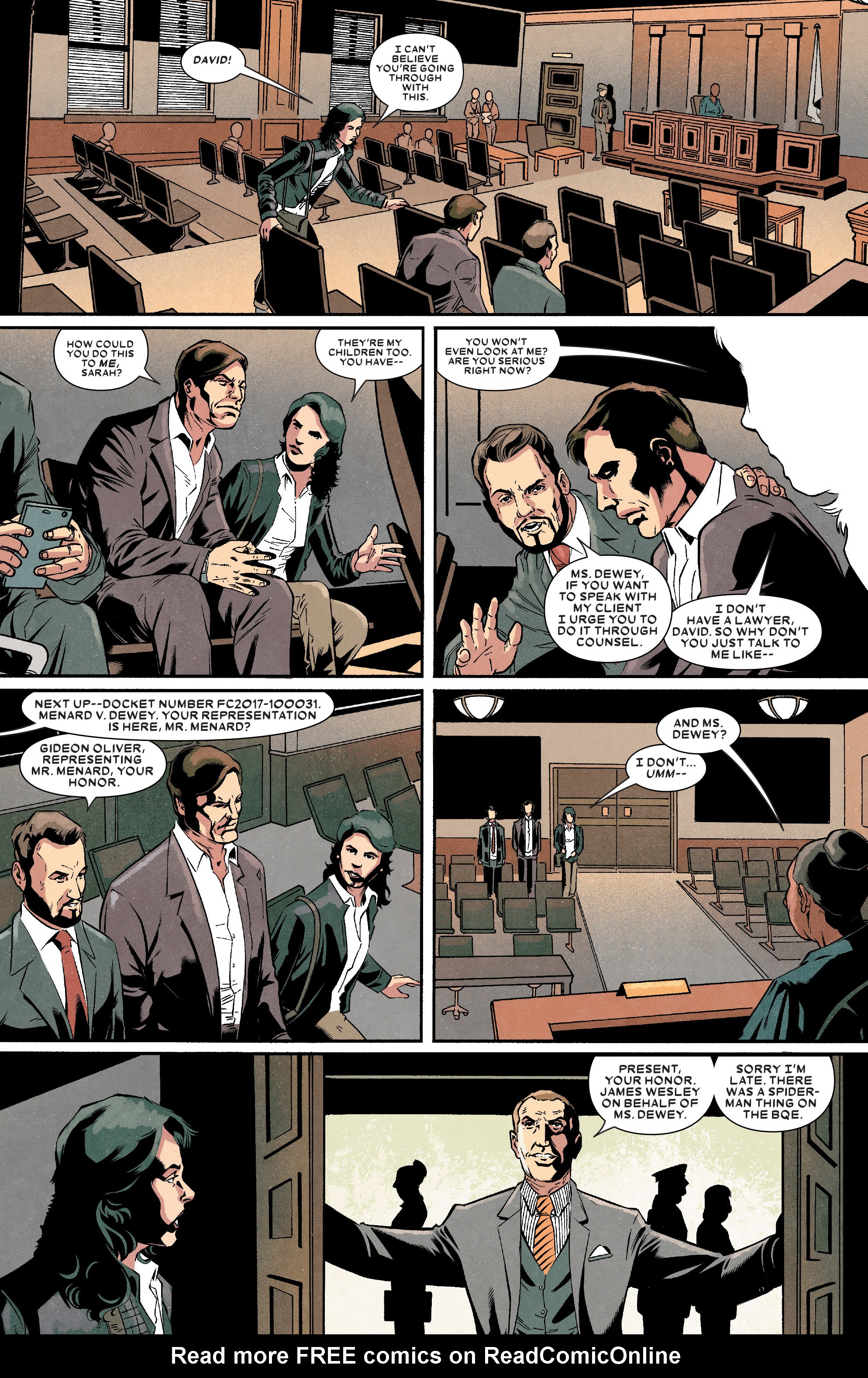 Read online Kingpin (2017) comic -  Issue #4 - 8