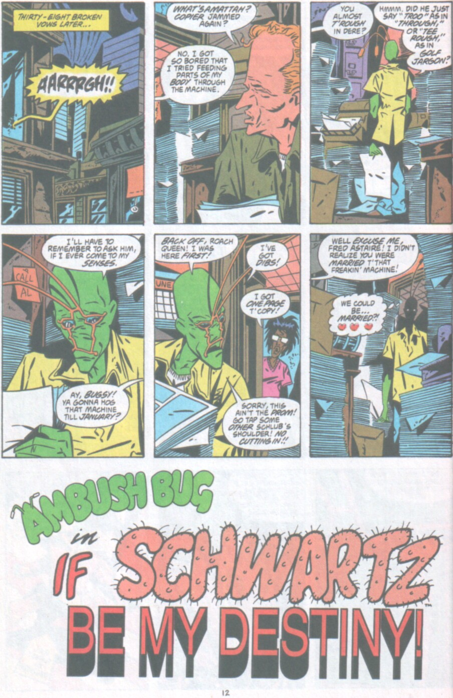 Read online Ambush Bug Nothing Special comic -  Issue # Full - 13