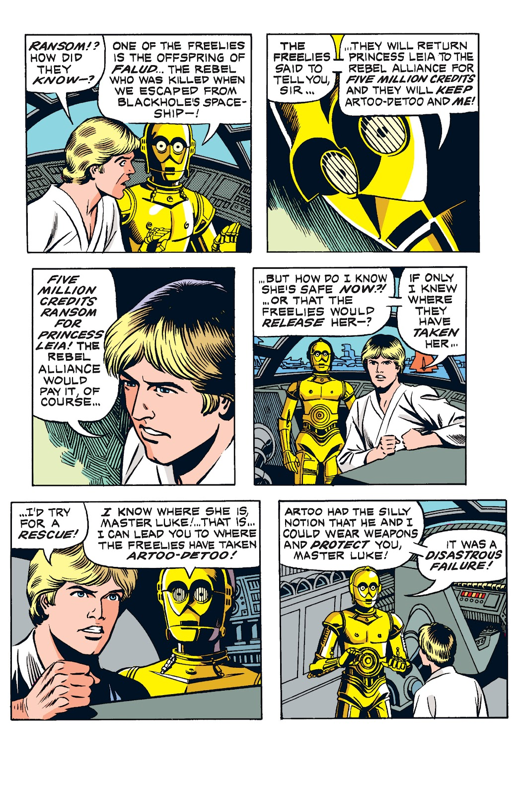 Read online Star Wars Legends: The Newspaper Strips - Epic Collection comic -  Issue # TPB (Part 2) - 7