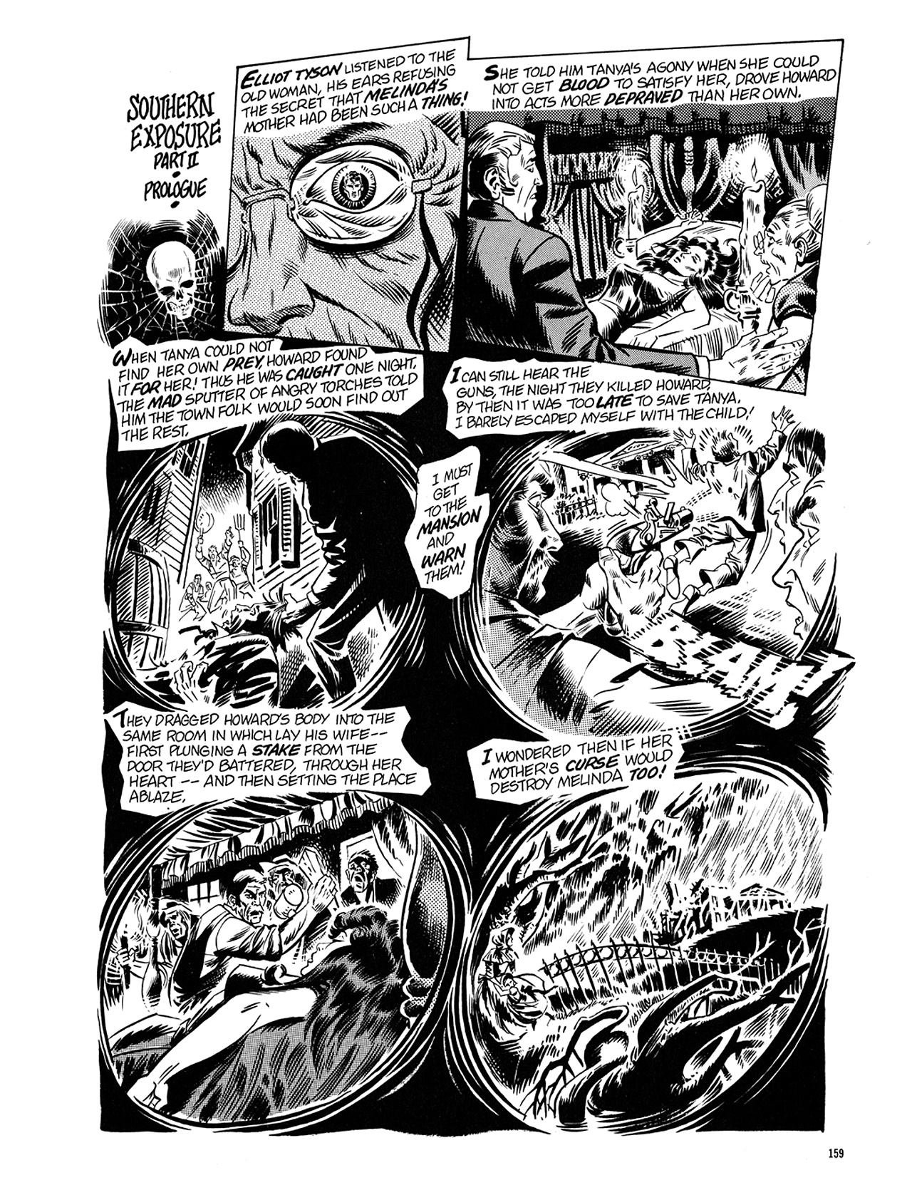 Read online Eerie Archives comic -  Issue # TPB 5 - 160