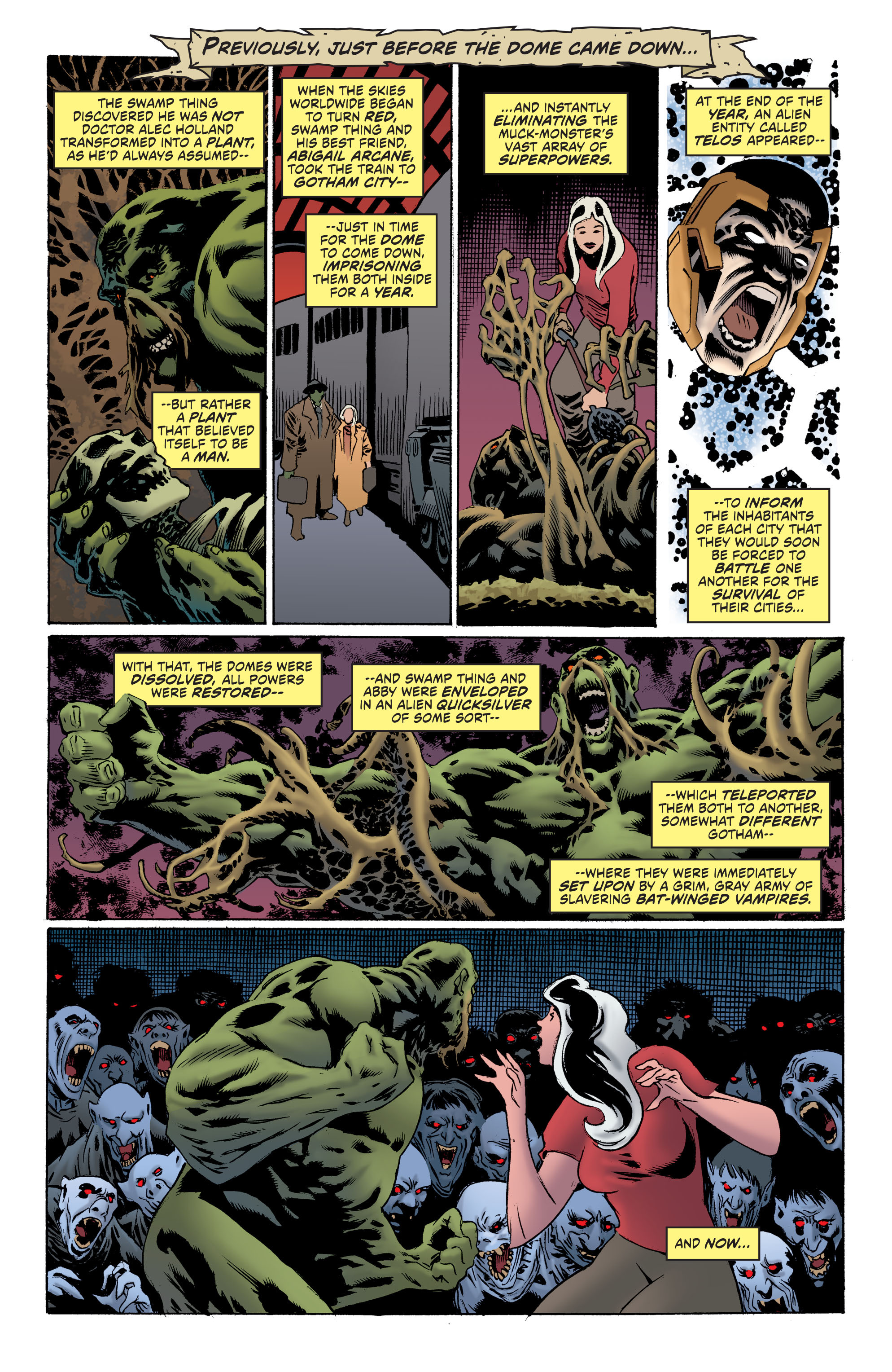 Read online Convergence Swamp Thing comic -  Issue #2 - 2