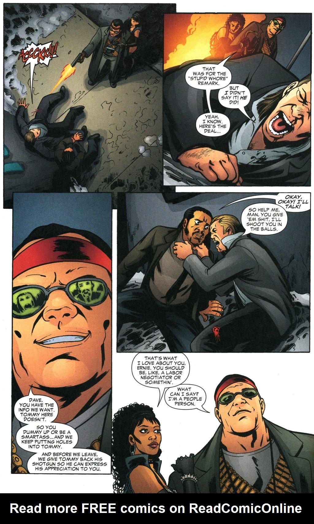 Read online Fallen Angel (2003) comic -  Issue #19 - 8
