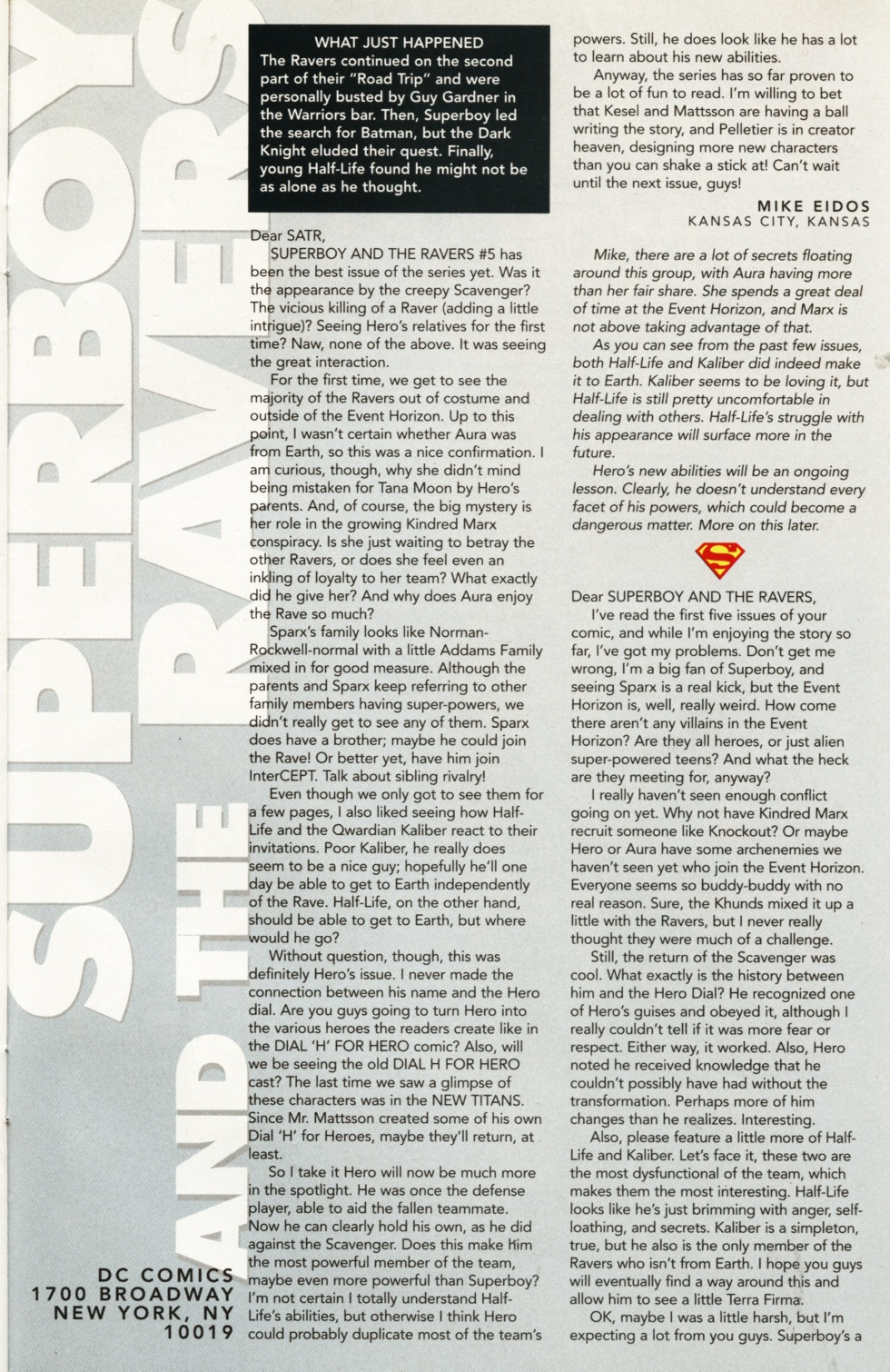 Read online Superboy & The Ravers comic -  Issue #9 - 24