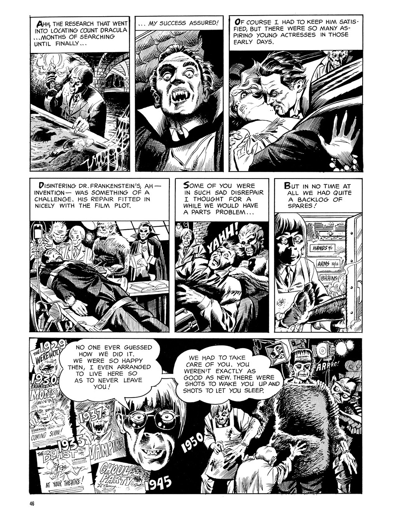 Read online Eerie Archives comic -  Issue # TPB 3 - 47