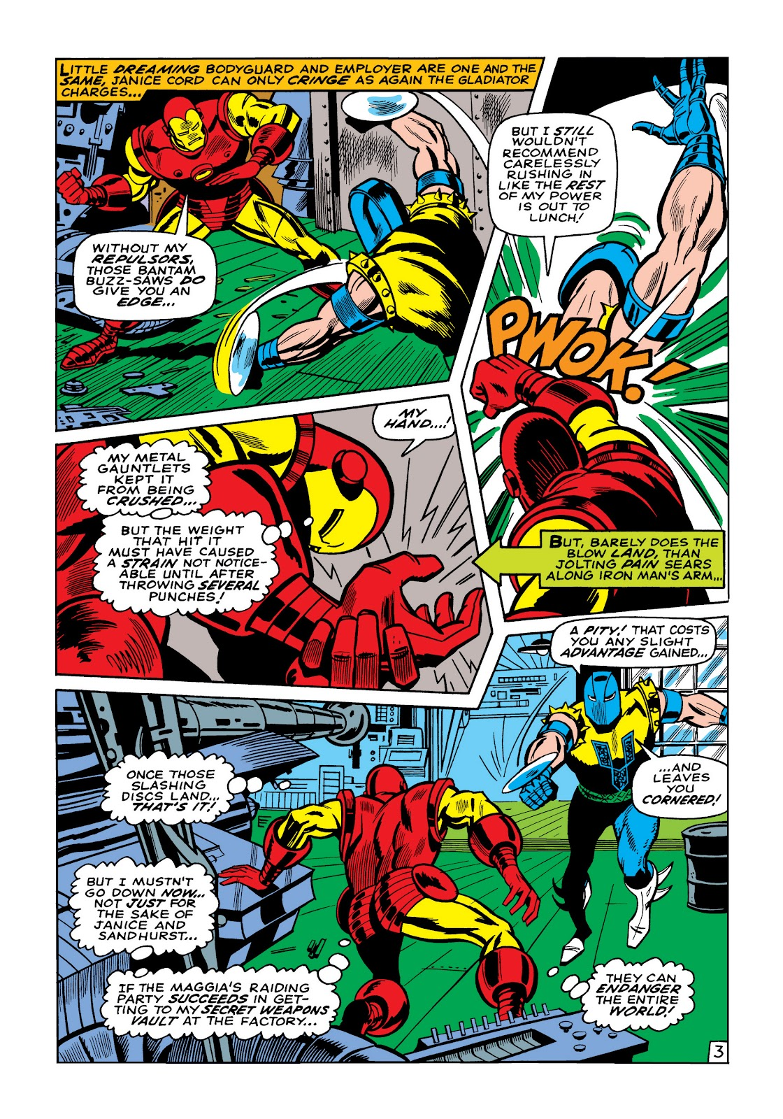 Read online Marvel Masterworks: The Invincible Iron Man comic -  Issue # TPB 5 (Part 2) - 36
