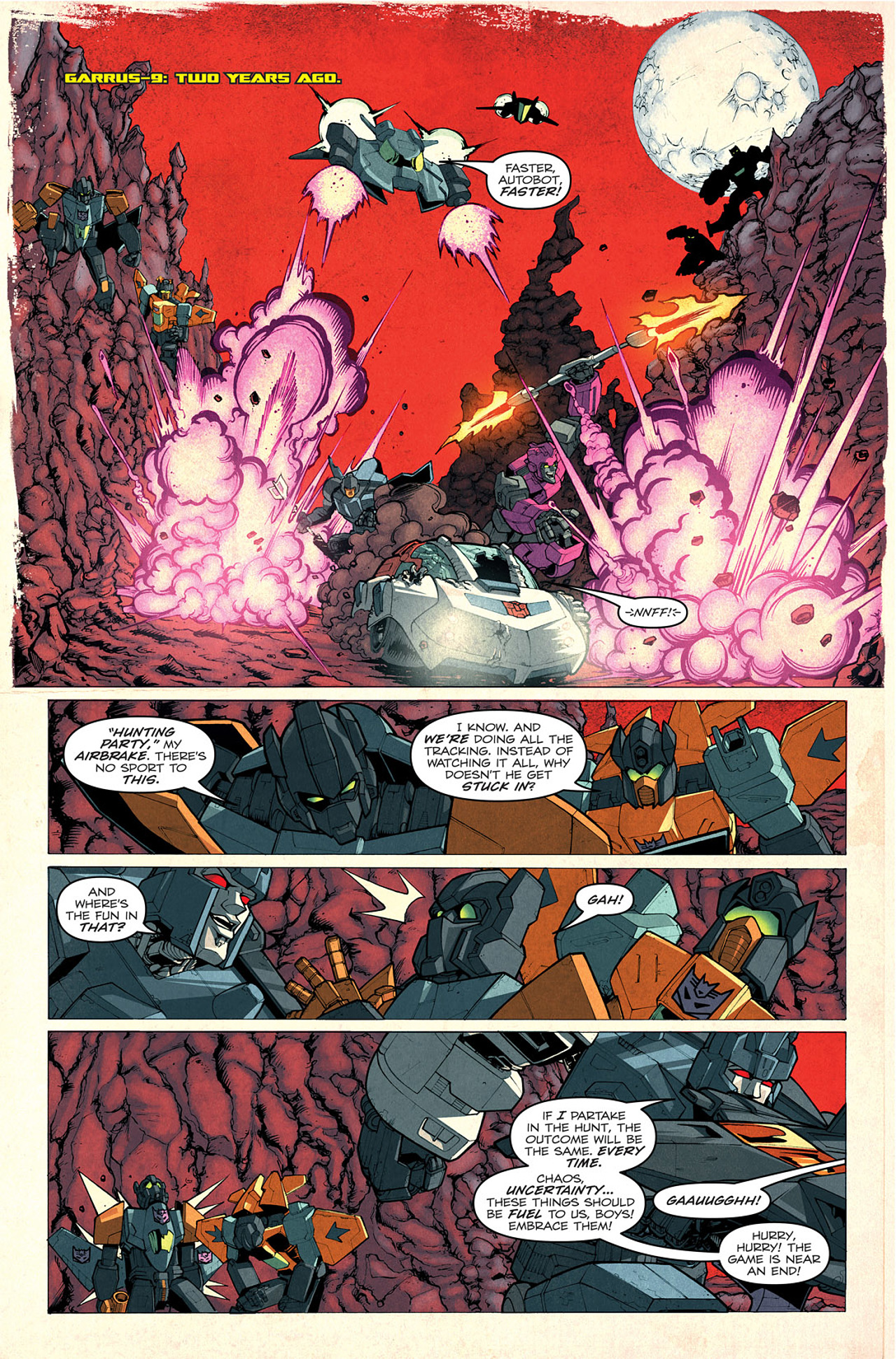 Read online Transformers: Last Stand of The Wreckers comic -  Issue #1 - 16