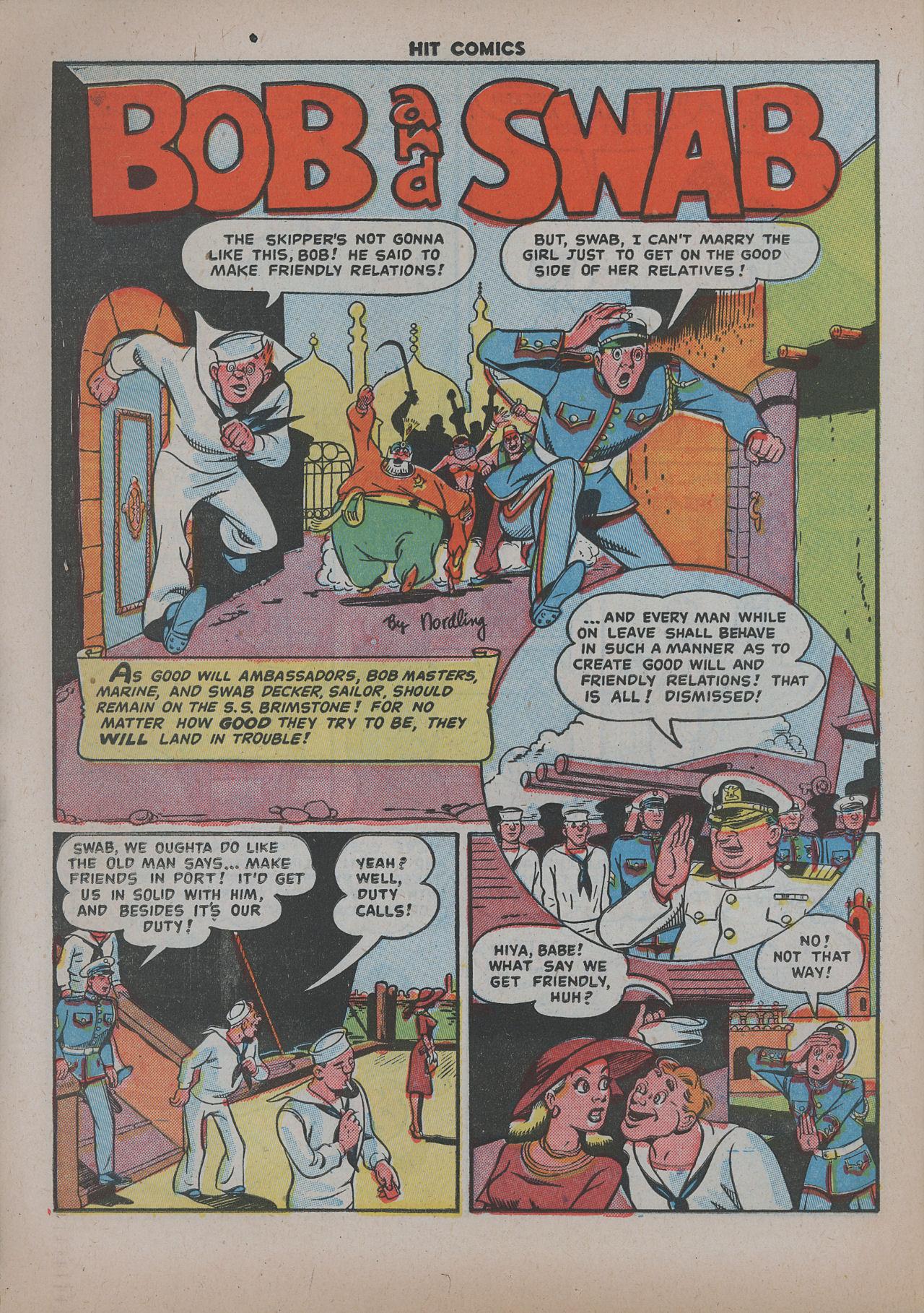 Read online Hit Comics comic -  Issue #62 - 23
