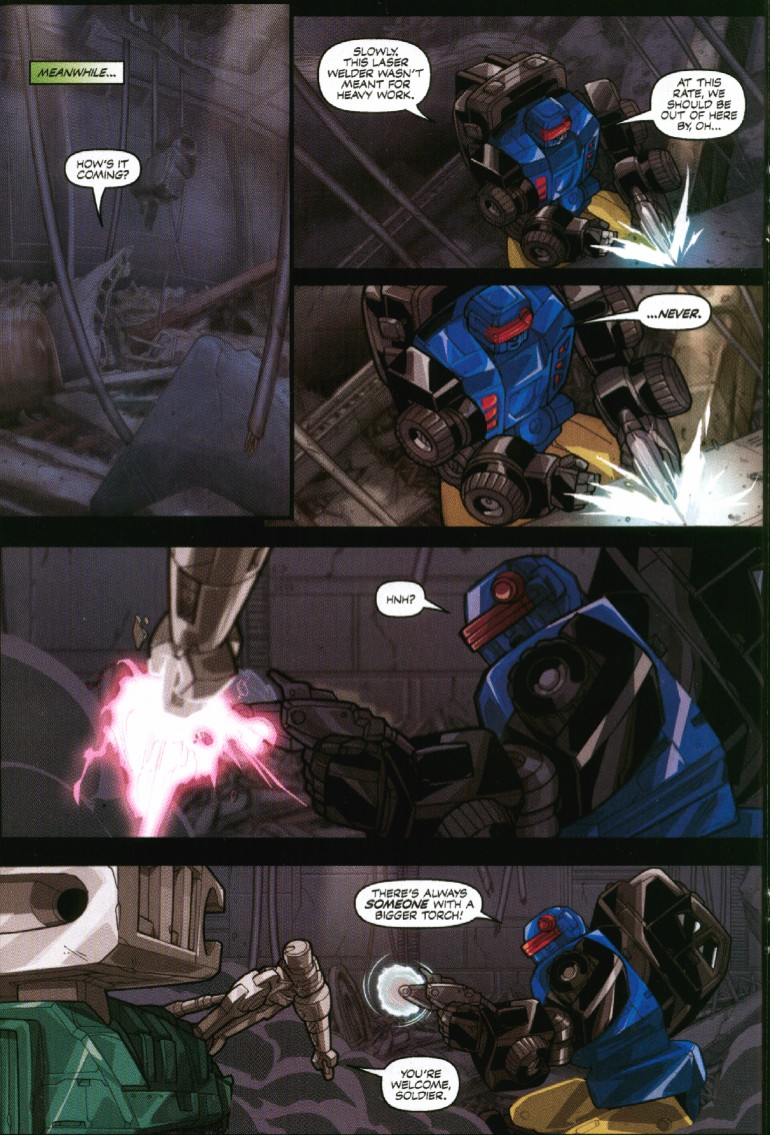 Read online Transformers Armada comic -  Issue #7 - 18