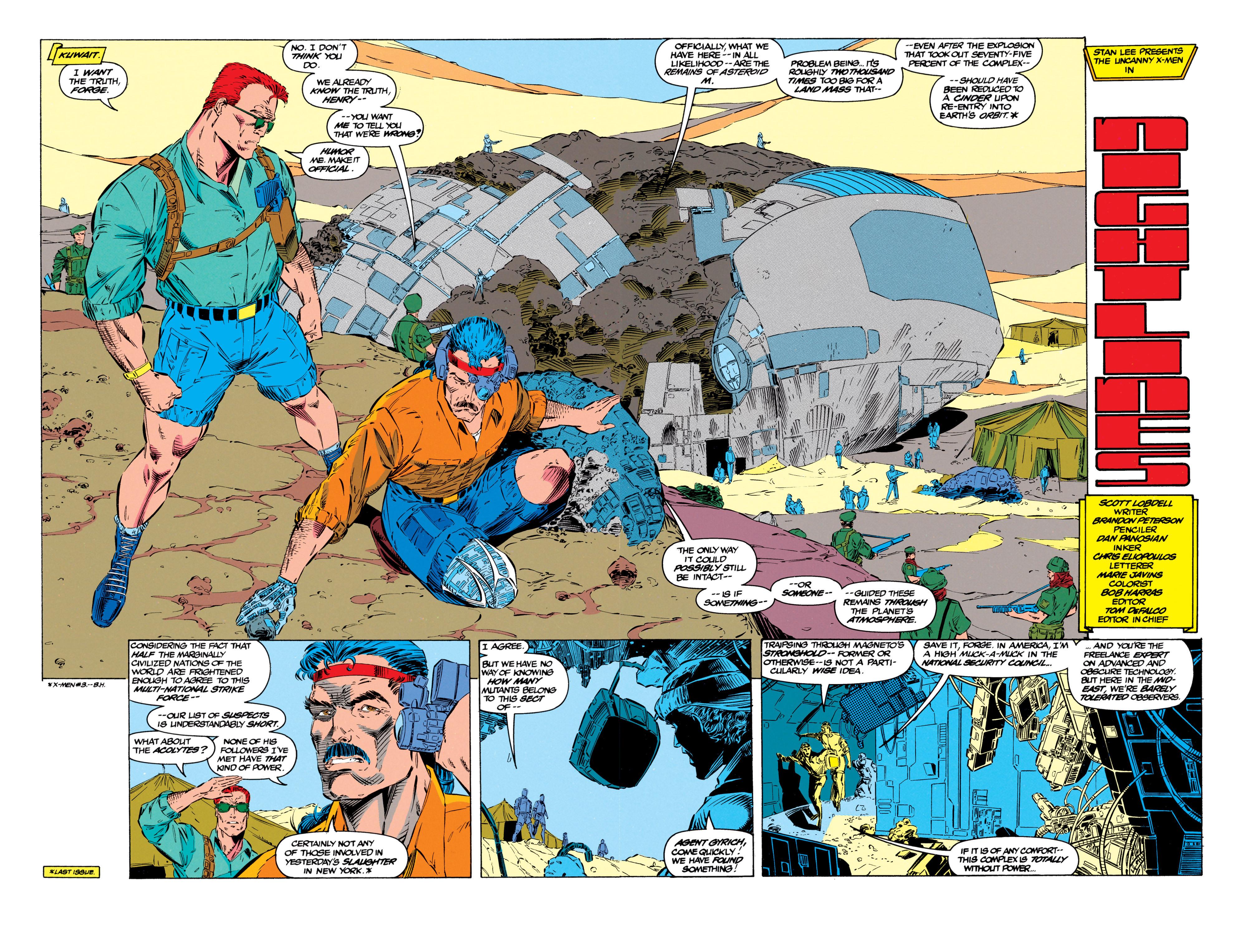 Read online Uncanny X-Men (1963) comic -  Issue #299 - 3