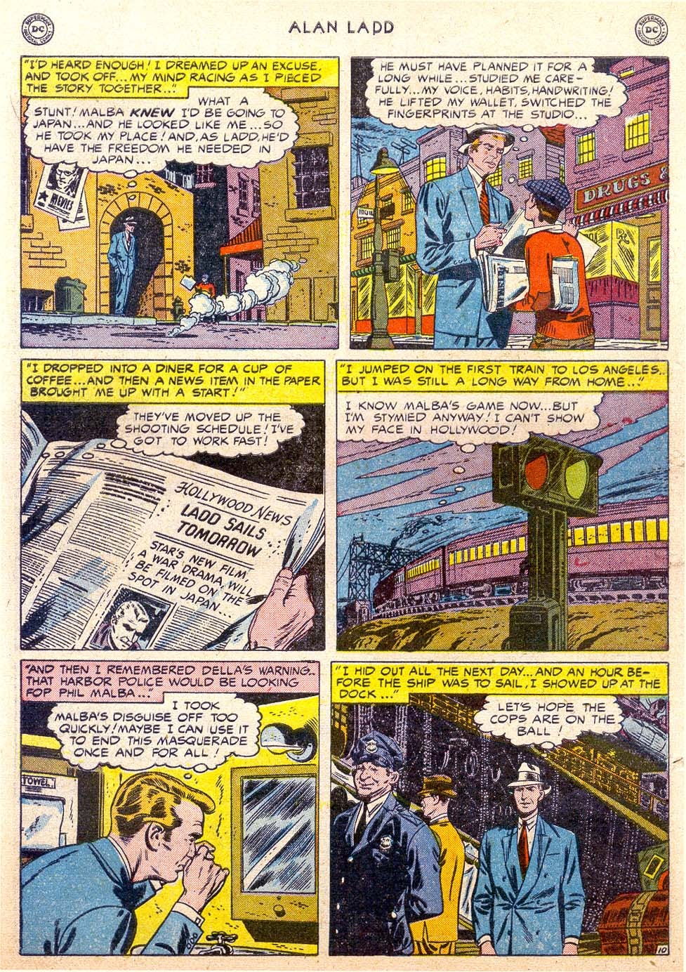 Adventures of Alan Ladd issue 4 - Page 12