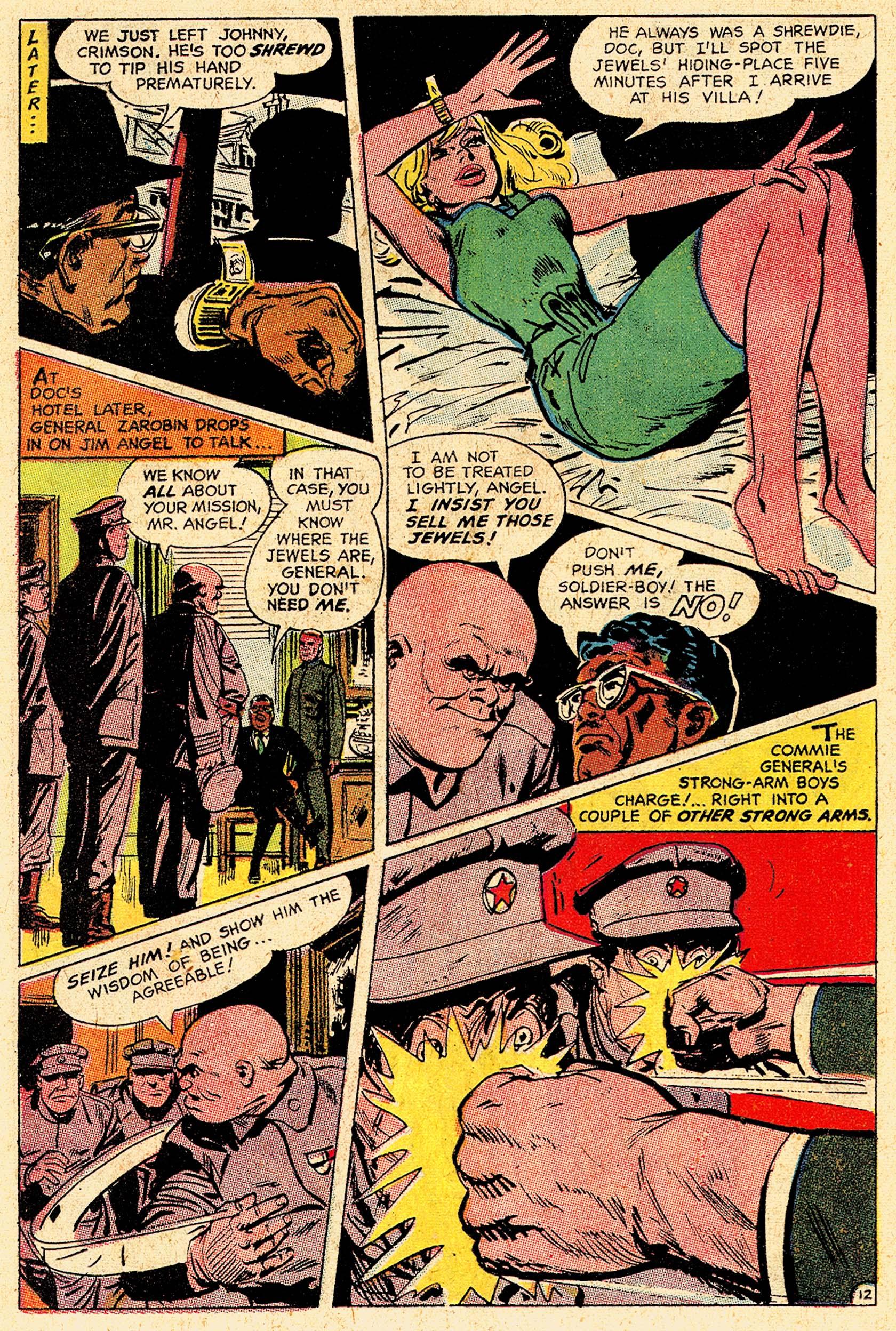Read online Secret Six (1968) comic -  Issue #5 - 16