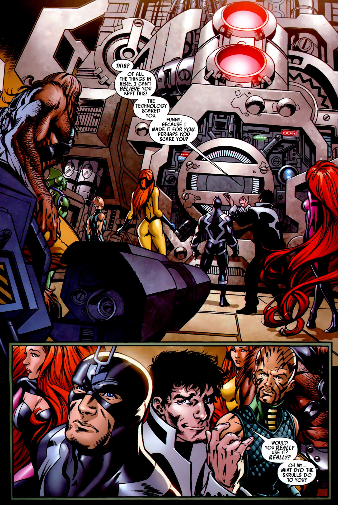 Read online Secret Invasion: War of Kings comic -  Issue # Full - 13
