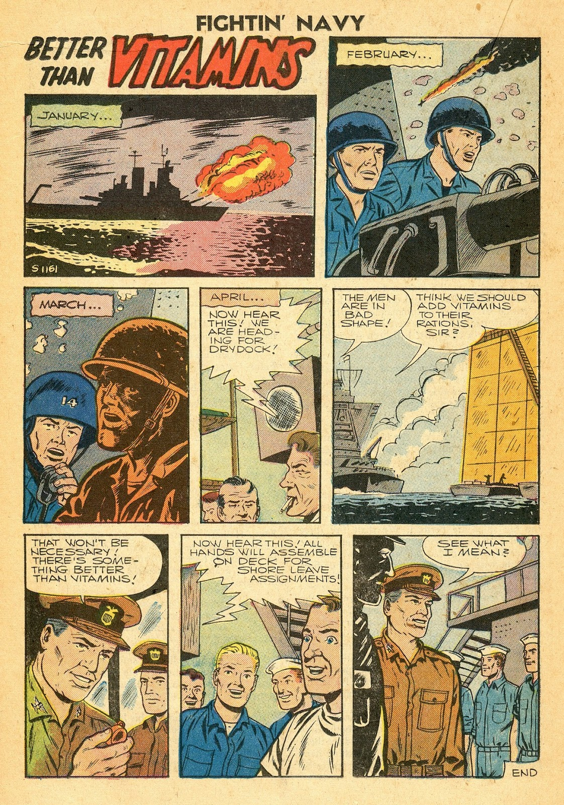 Read online Fightin' Navy comic -  Issue #77 - 18