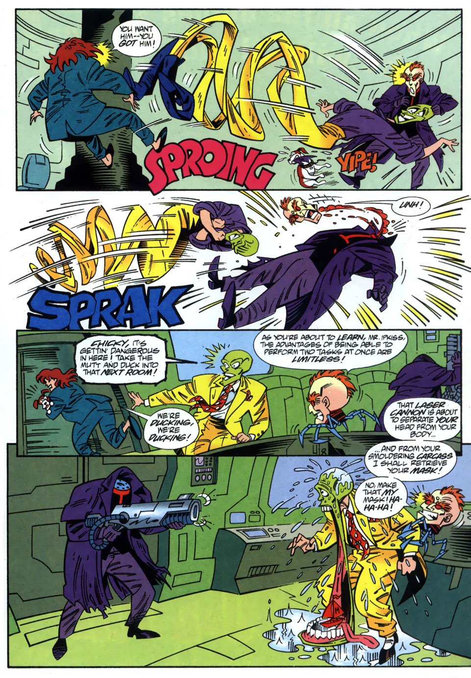 Read online Adventures Of The Mask comic -  Issue #2 - 21