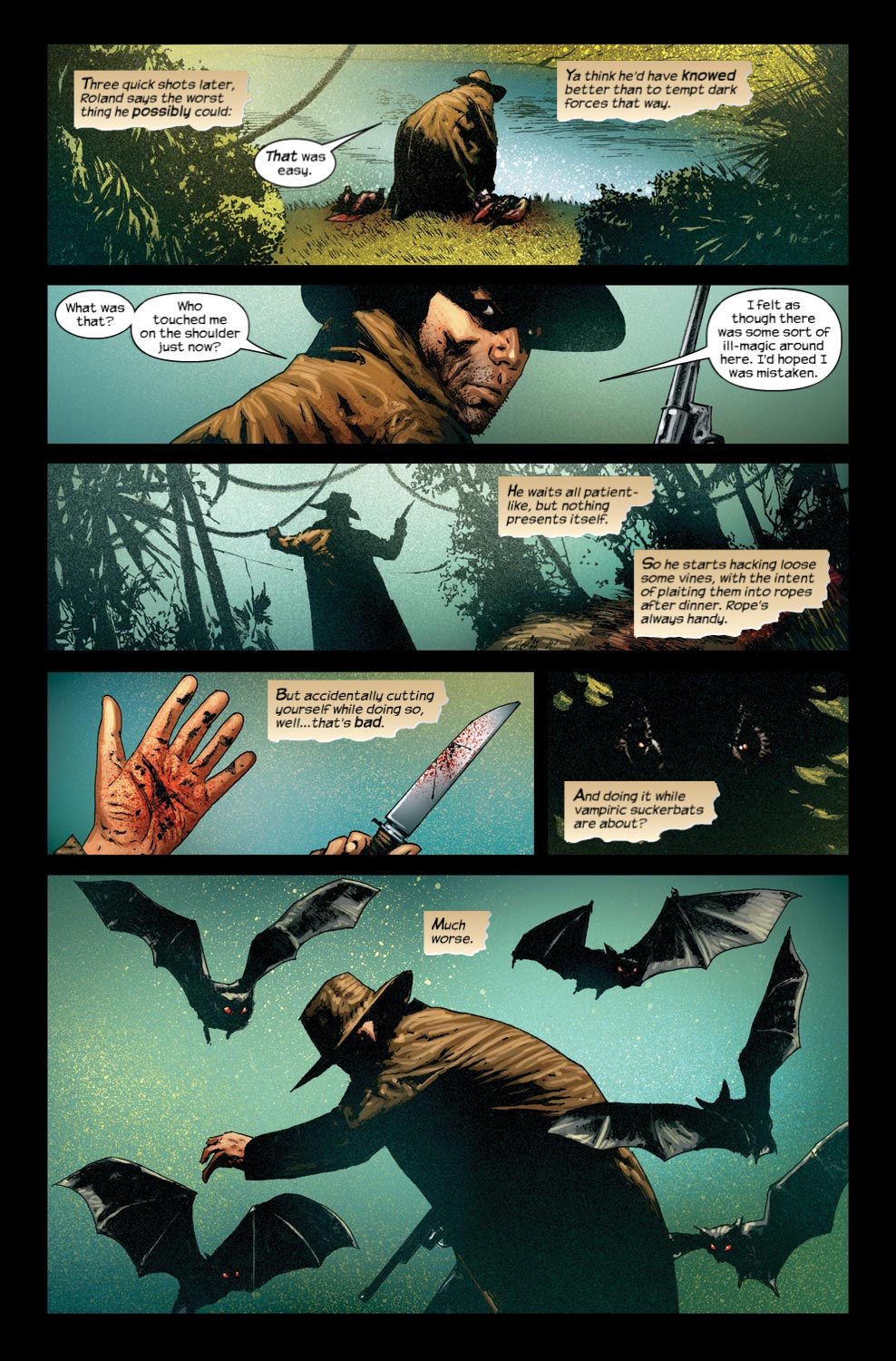 Read online Dark Tower: The Gunslinger - The Way Station comic -  Issue #4 - 13