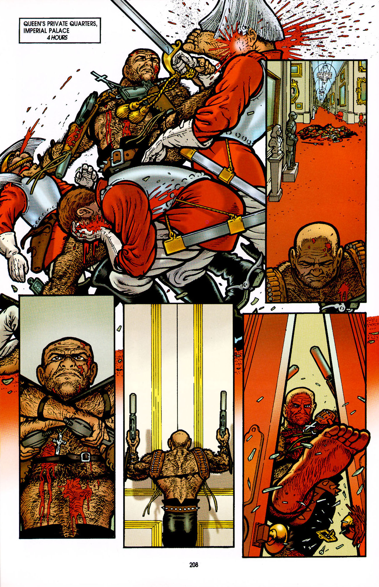Read online Heart of Empire comic -  Issue #7 - 14