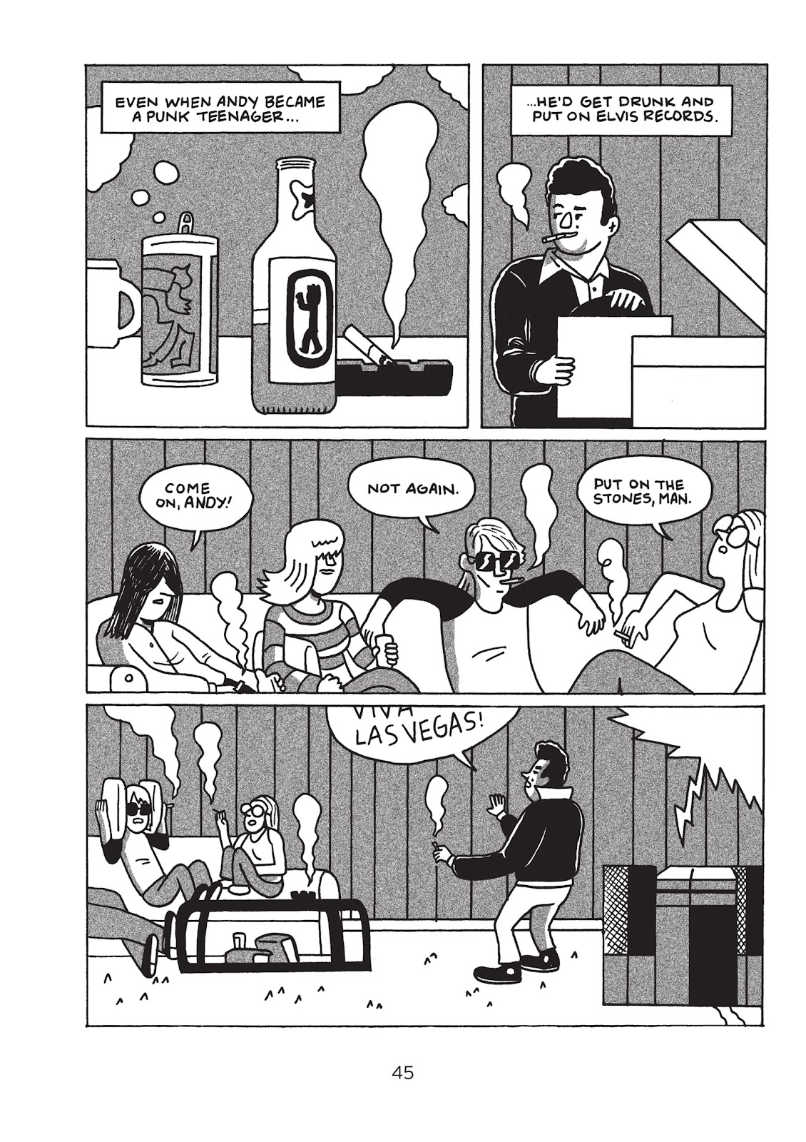 Read online Is This Guy For Real?: The Unbelievable Andy Kaufman comic -  Issue # TPB (Part 1) - 50