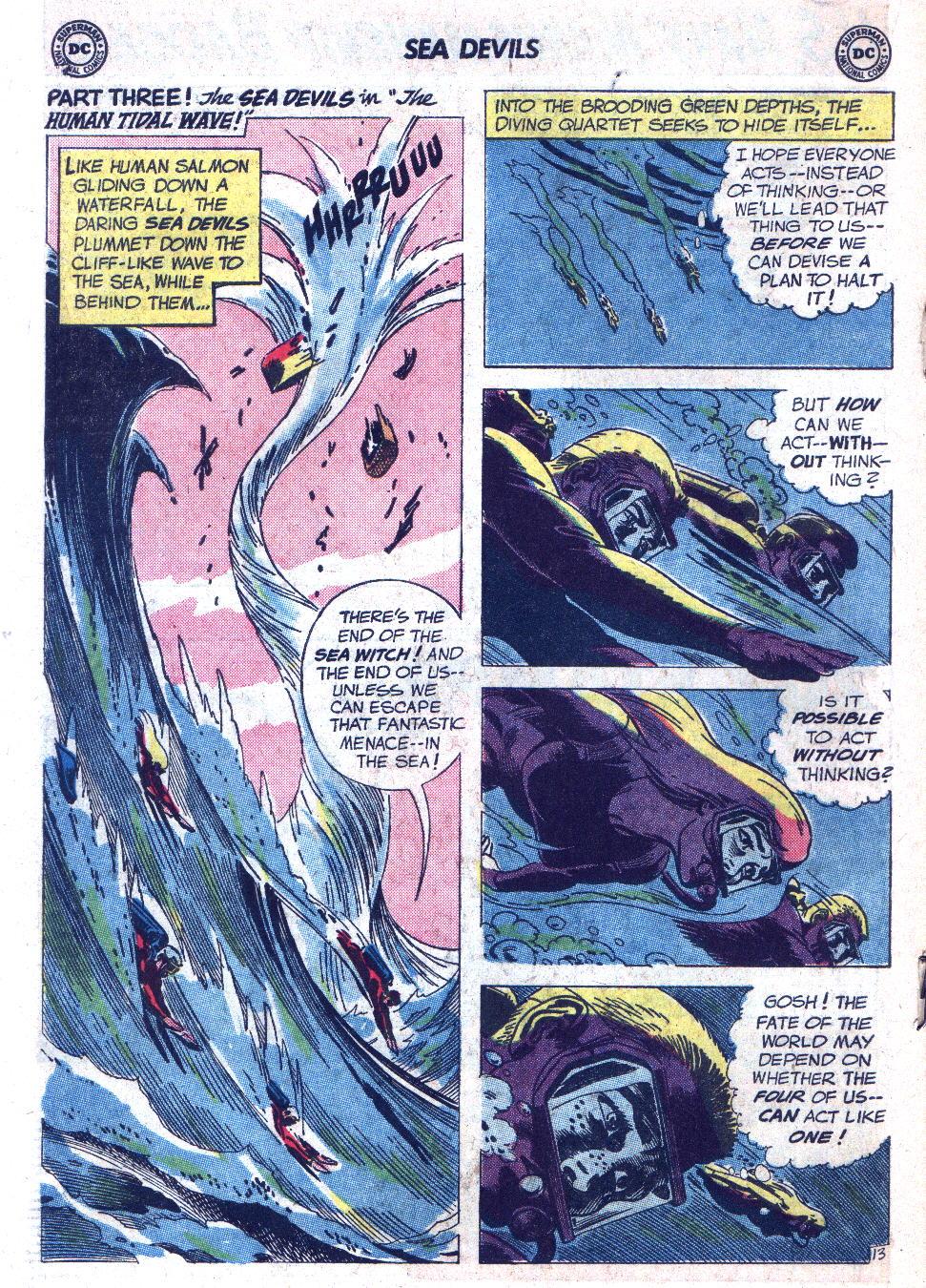Read online Sea Devils comic -  Issue #7 - 19