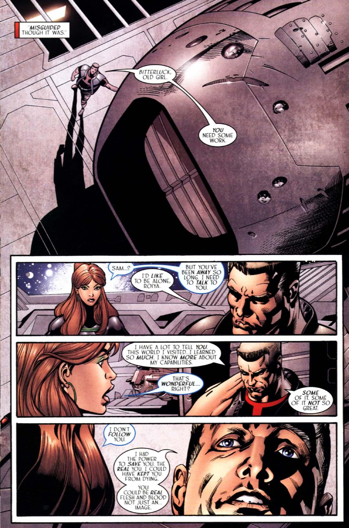 Read online Sigil (2000) comic -  Issue #22 - 18