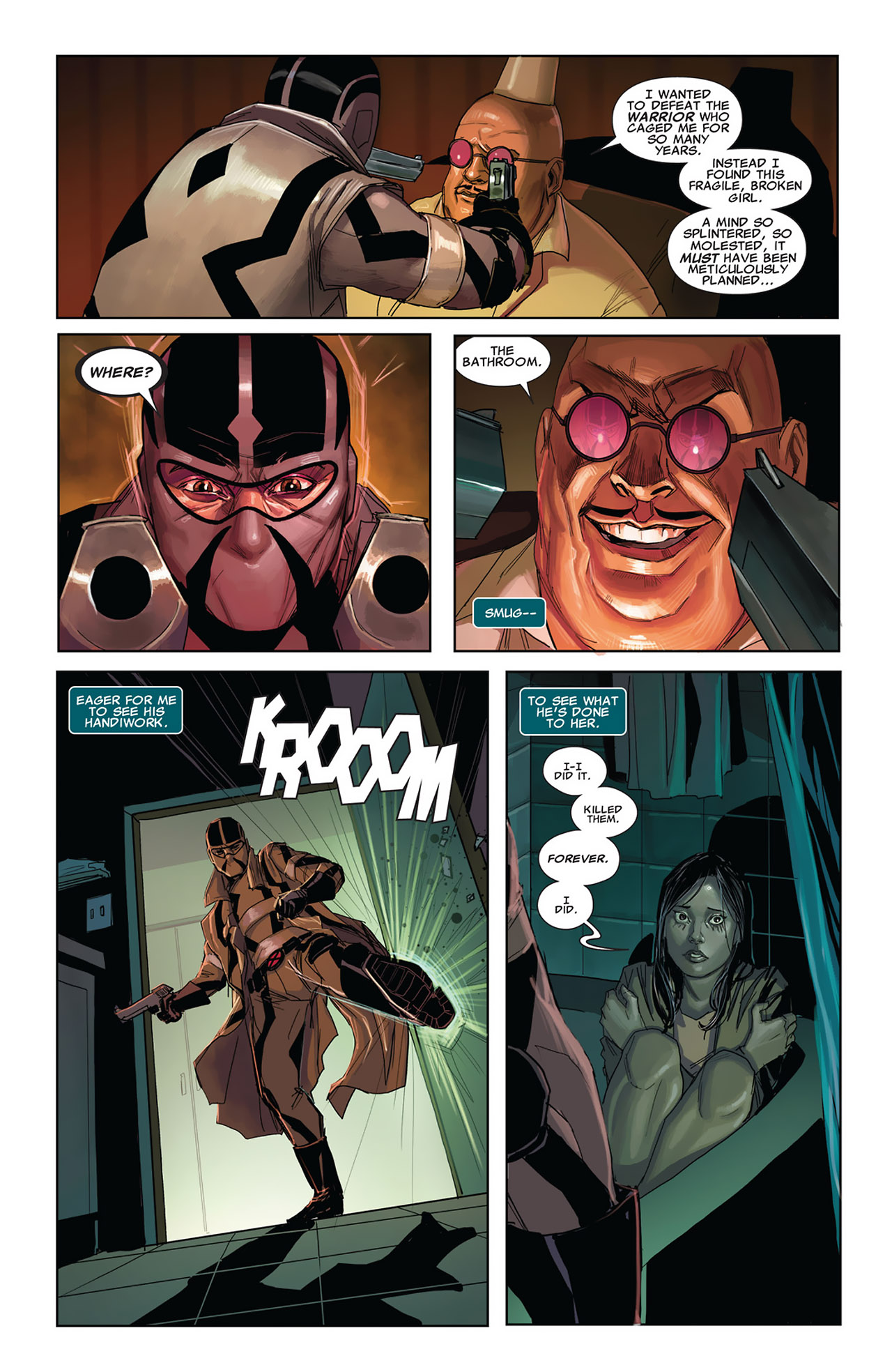 Read online Uncanny X-Force (2010) comic -  Issue #27 - 10