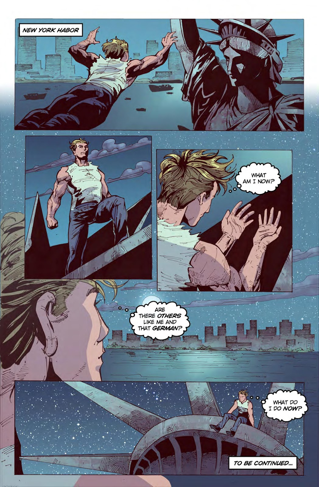 Read online American Dreams comic -  Issue #1 - 23