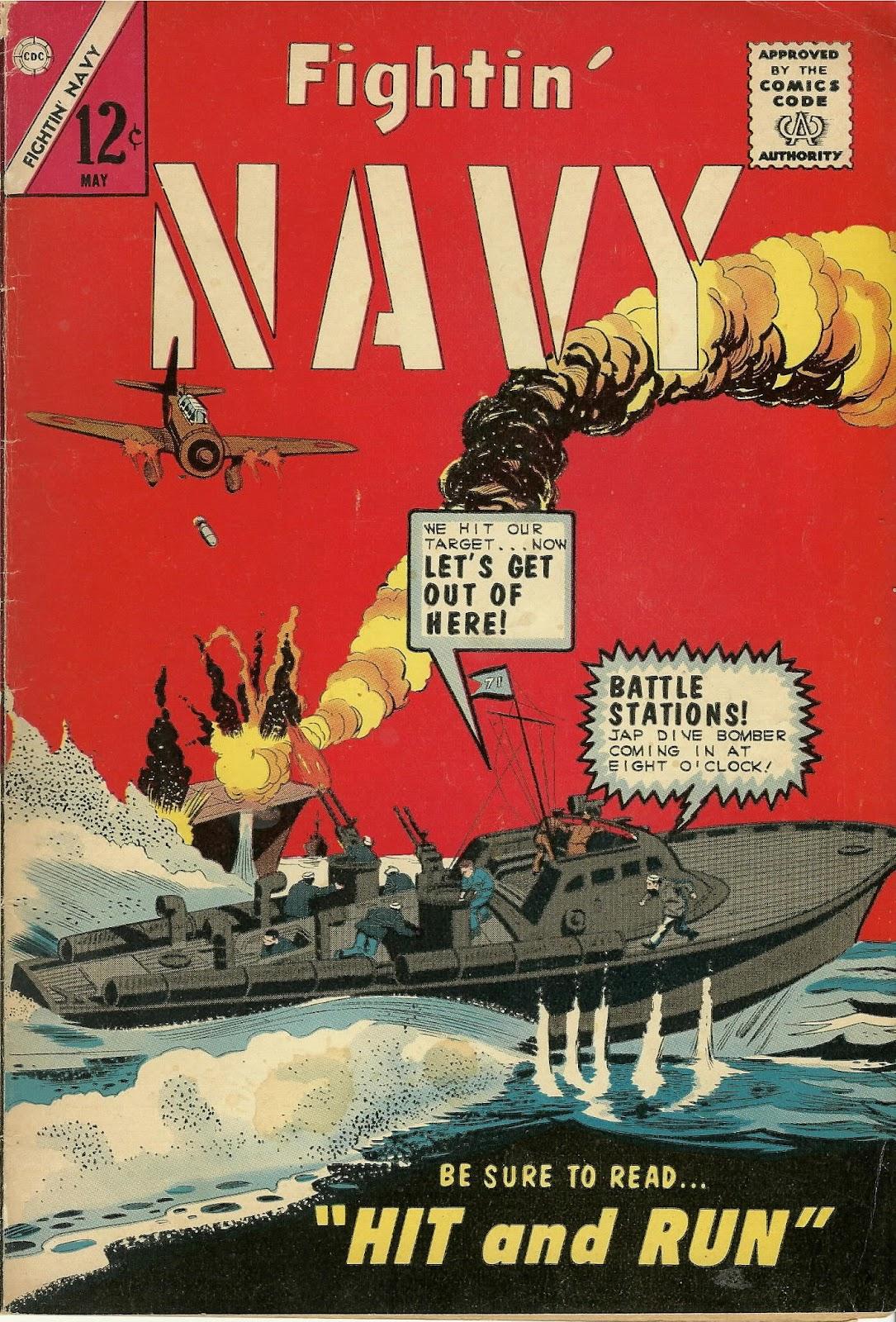 Read online Fightin' Navy comic -  Issue #115 - 1