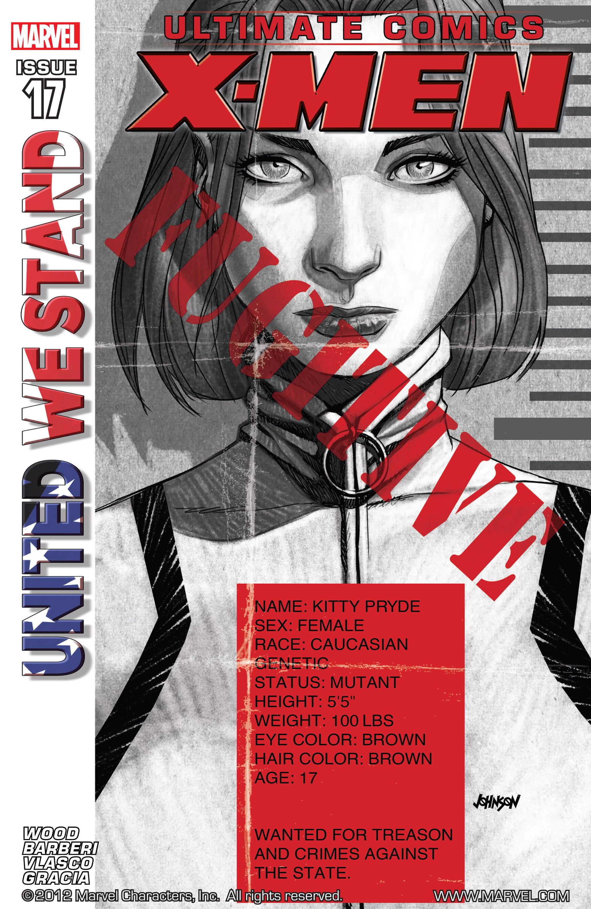 Read online Ultimate Comics X-Men comic -  Issue #17 - 1