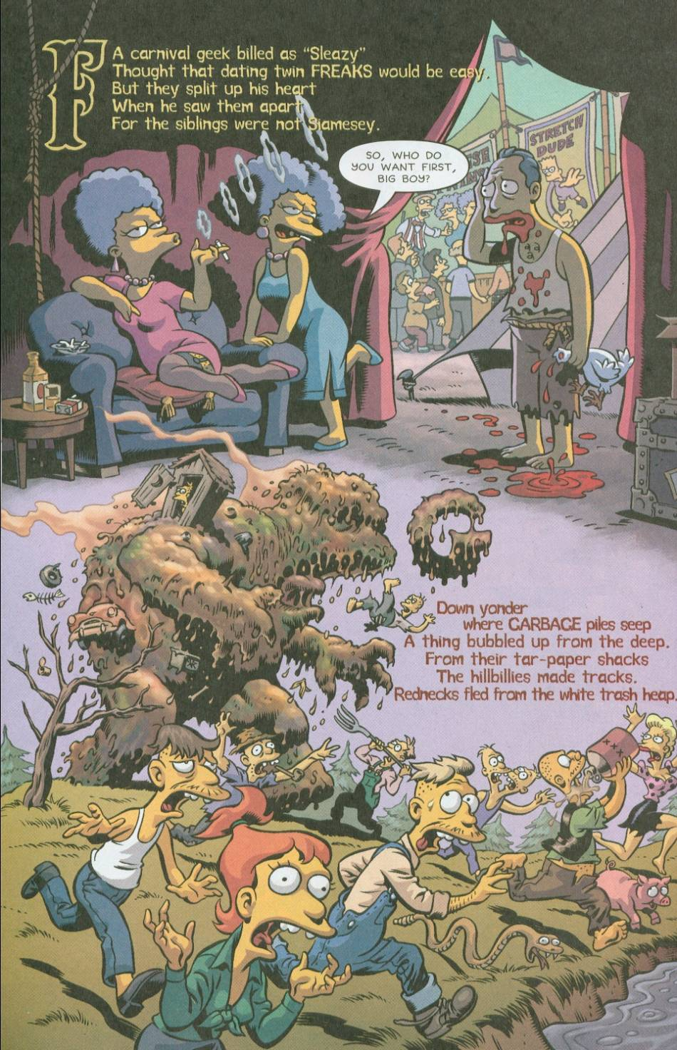 Read online Treehouse of Horror comic -  Issue #8 - 35