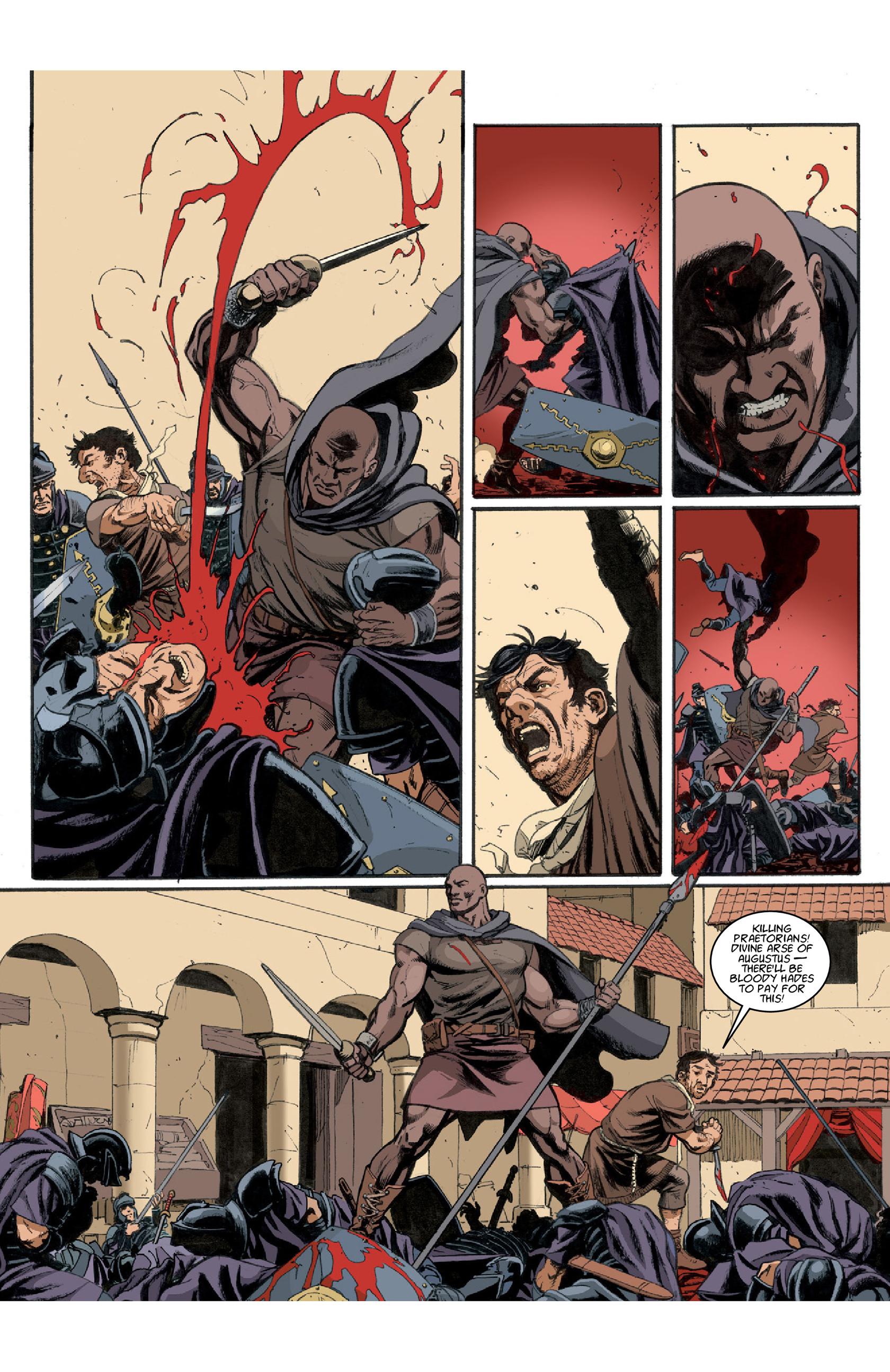 Read online Aquila comic -  Issue #3 - 8