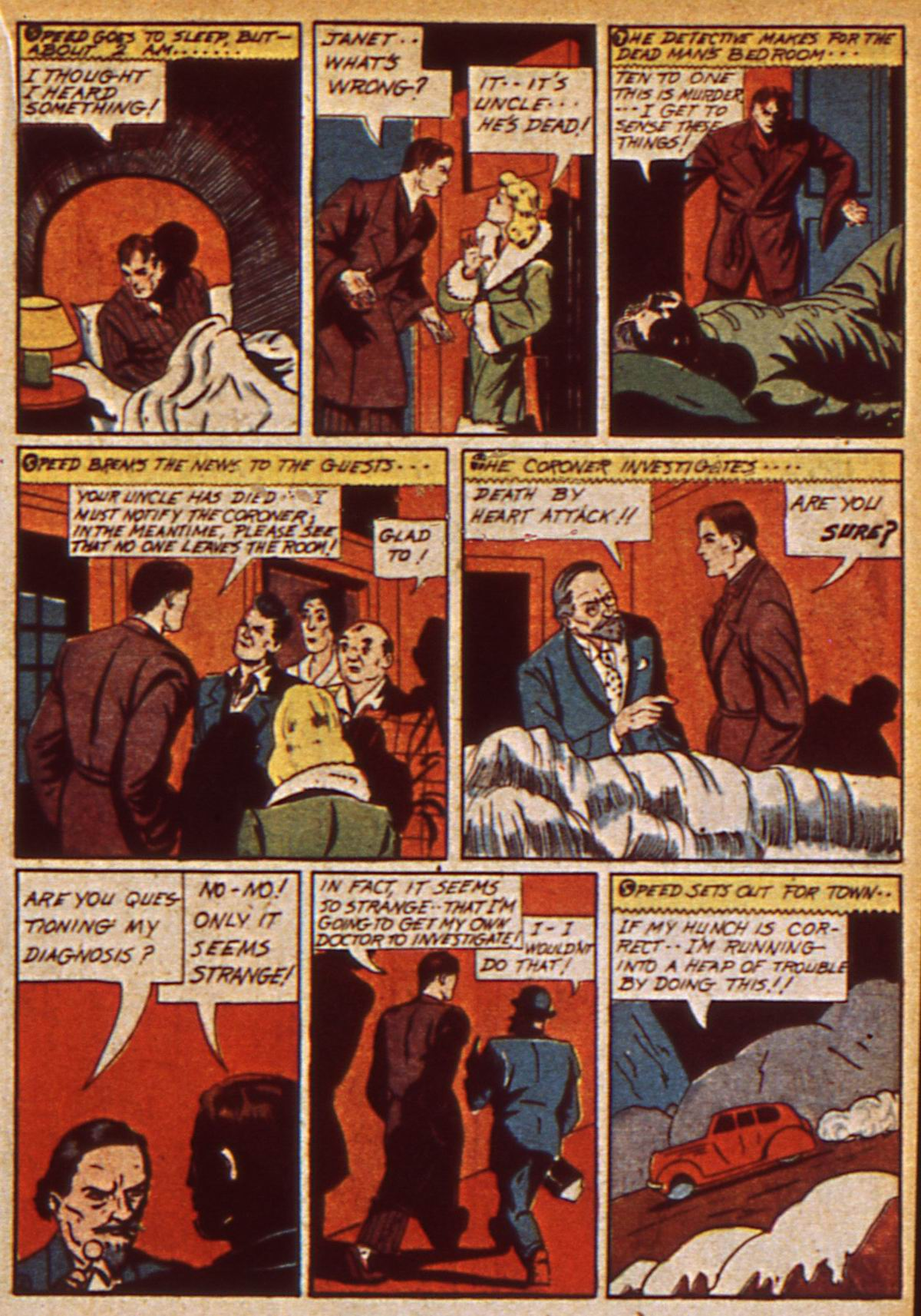 Read online Detective Comics (1937) comic -  Issue #47 - 37