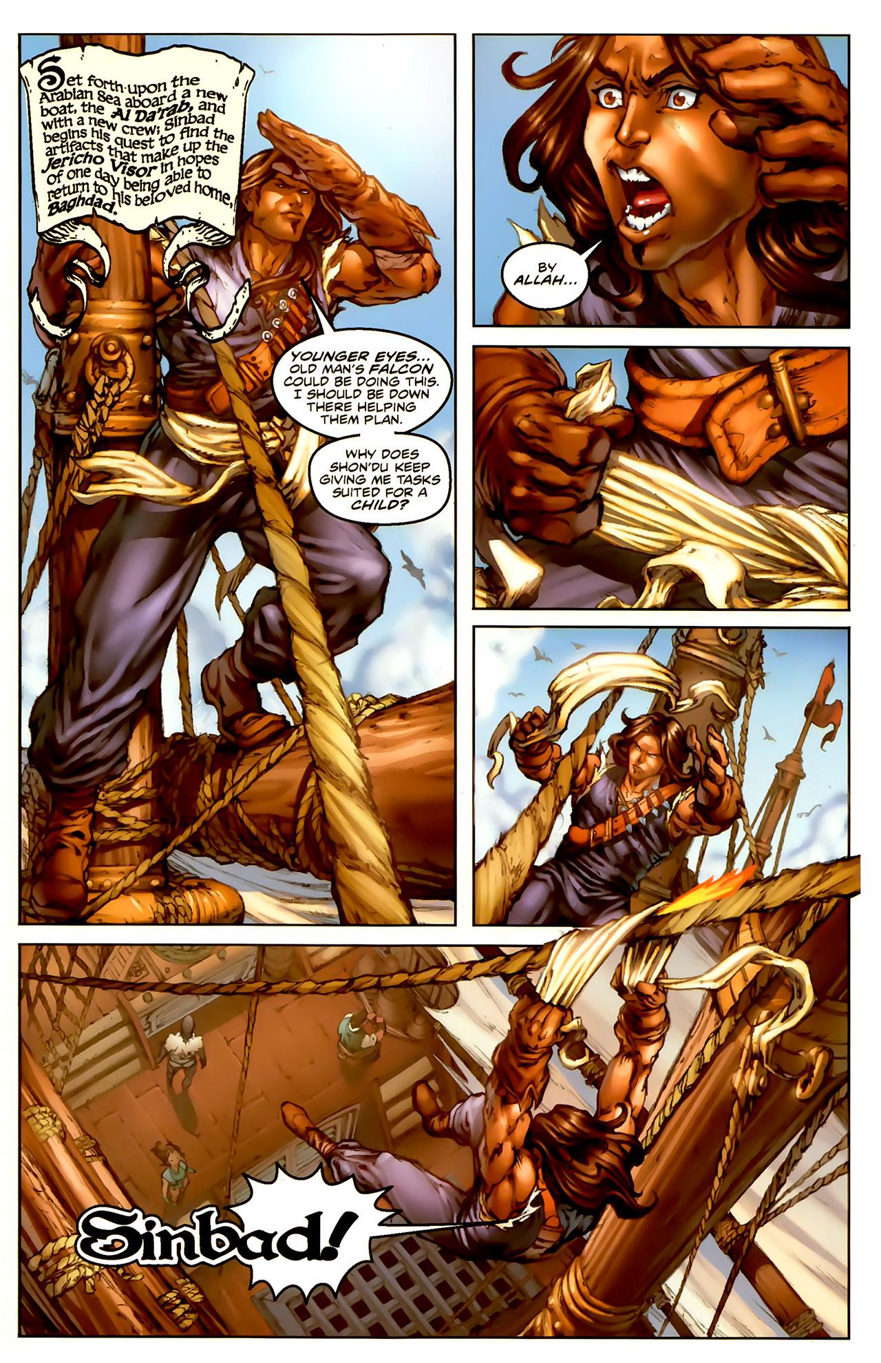 Read online 1001 Arabian Nights: The Adventures of Sinbad comic -  Issue #1 - 6