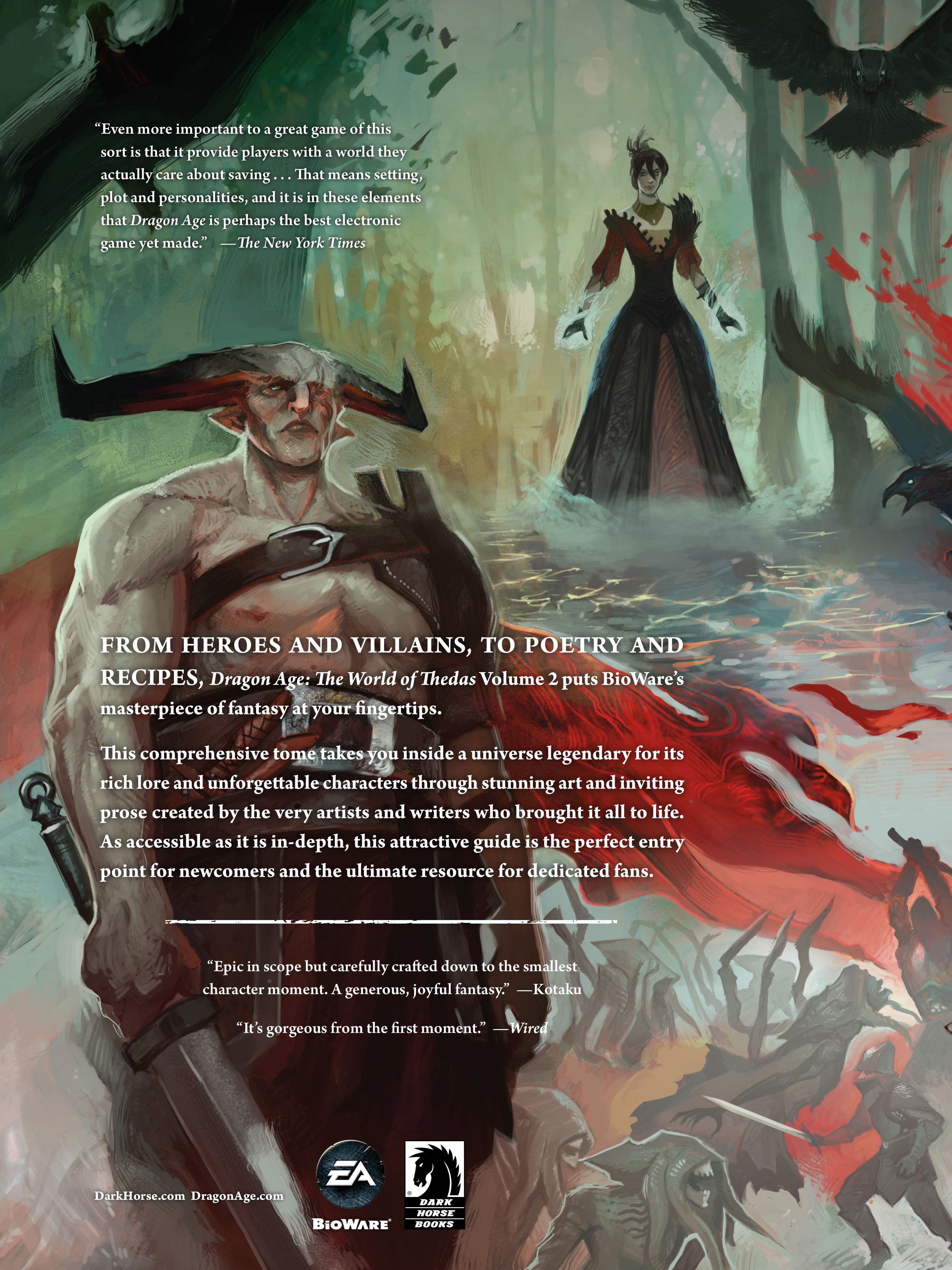 Read online Dragon Age: The World of Thedas comic -  Issue # TPB 2 - 304
