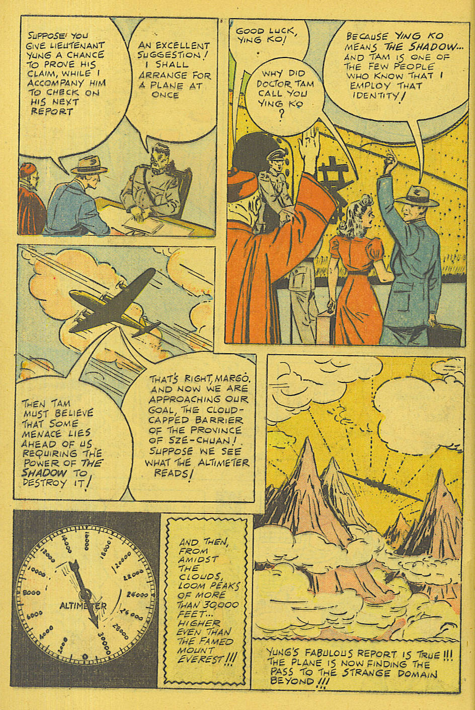 Read online Shadow Comics comic -  Issue #71 - 36