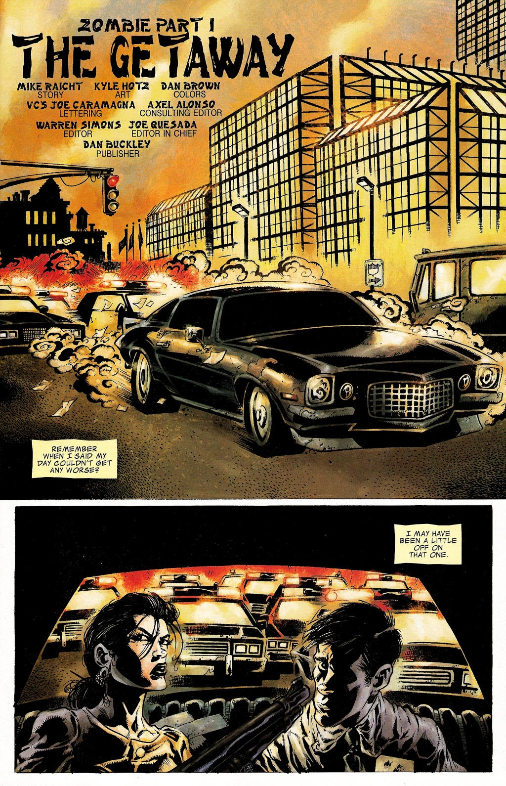 Read online Zombie (2006) comic -  Issue #1 - 5