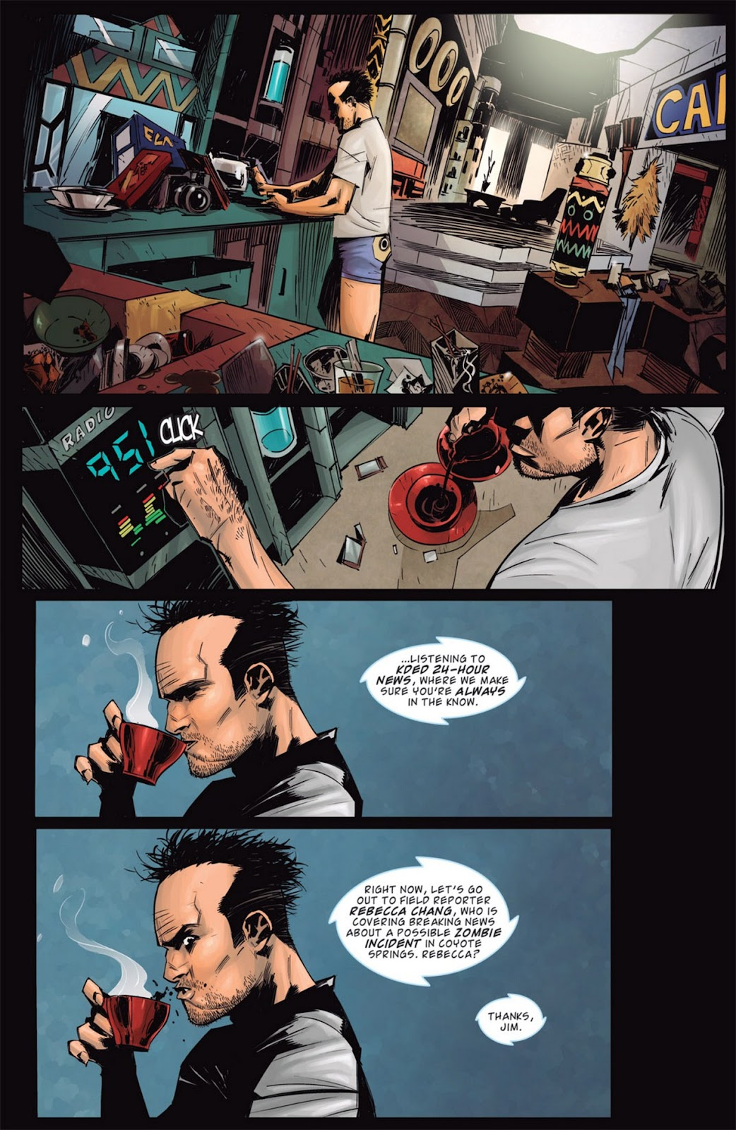 Read online Dead Rising: Road to Fortune comic -  Issue #1 - 16