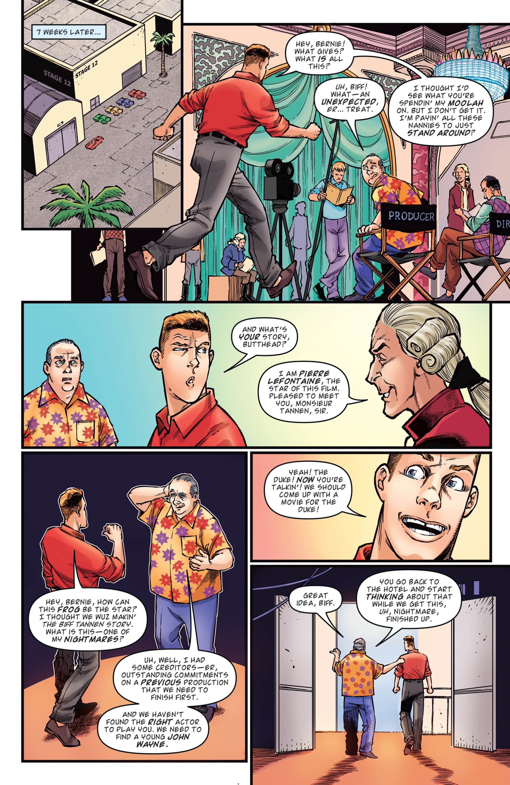 Read online Back to the Future: Biff to the Future comic -  Issue #2 - 7
