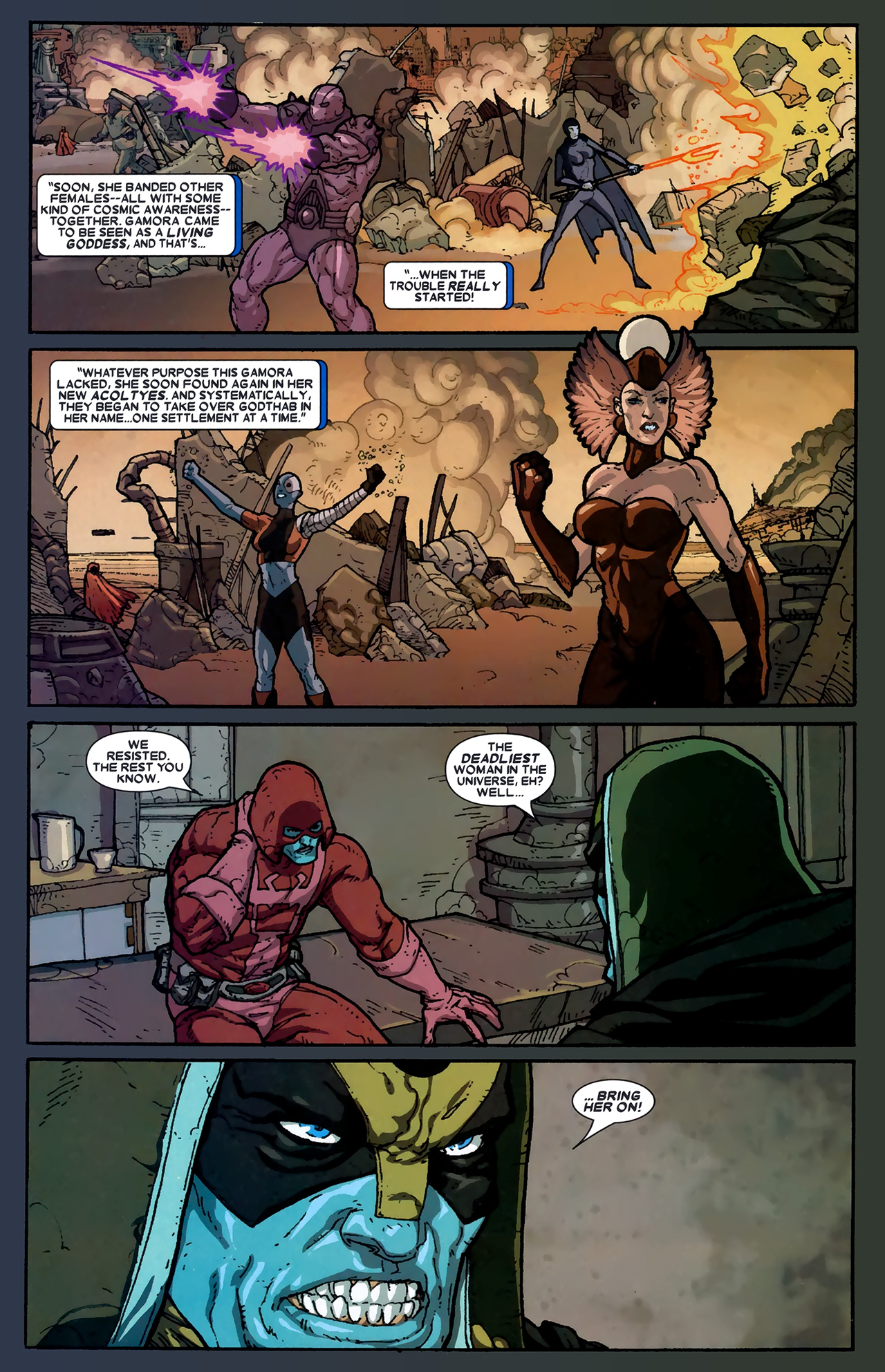 Read online Annihilation: Ronan comic -  Issue #2 - 12