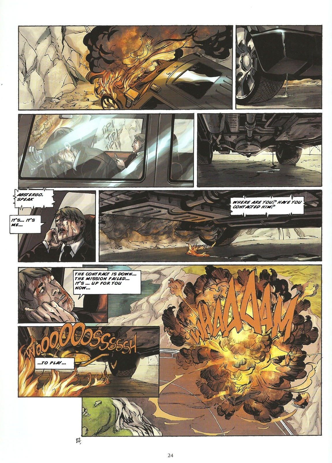 Read online Assassin's Creed (2009) comic -  Issue #2 - 24