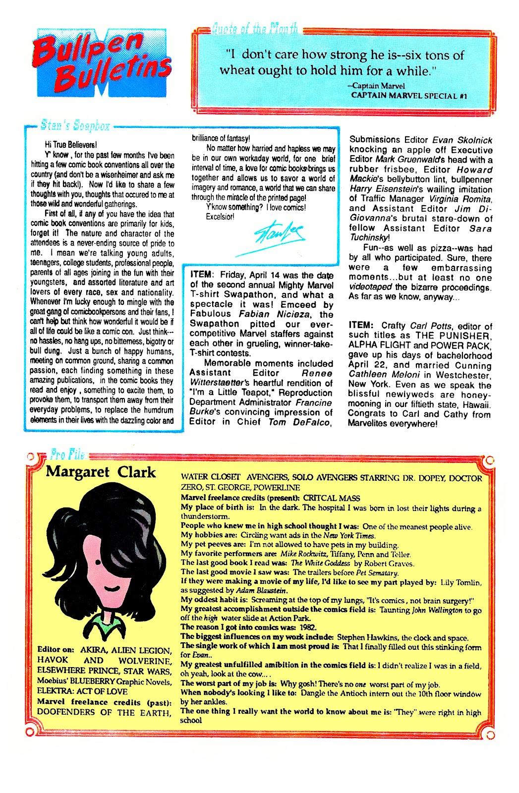 Uncanny X-Men (1963) issue 252 - Page 21
