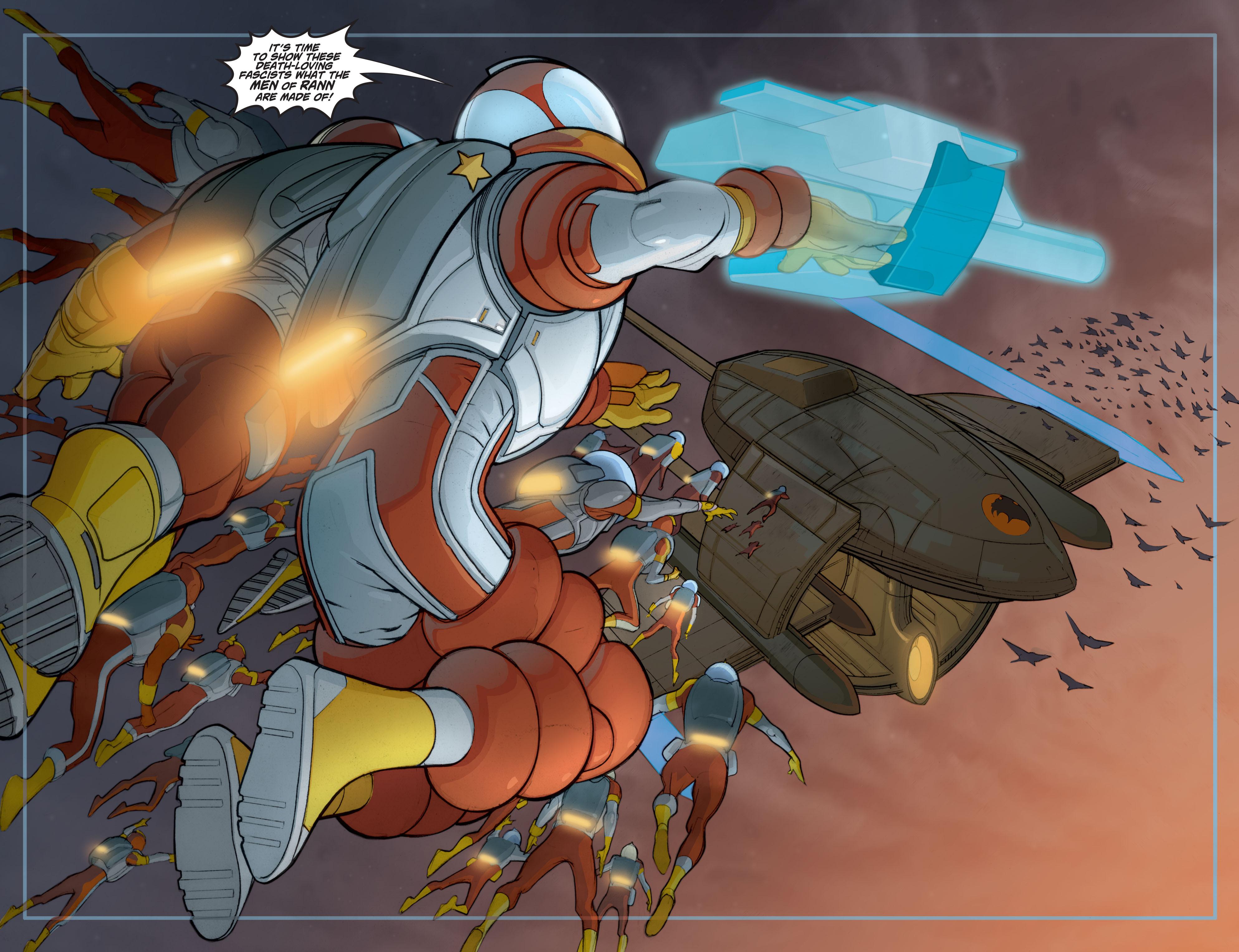 Read online Adam Strange (2004) comic -  Issue #7 - 20