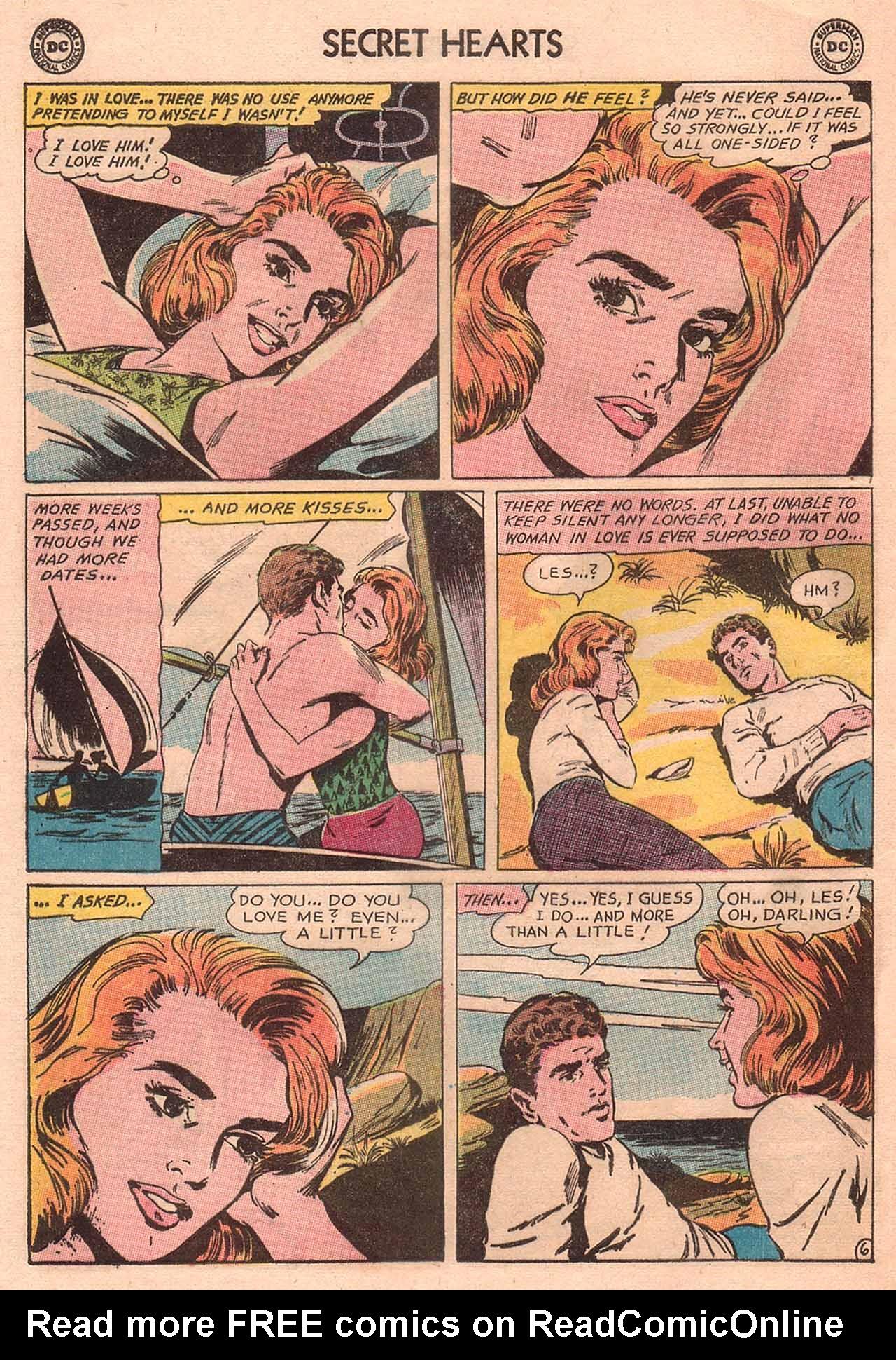 Read online Secret Hearts comic -  Issue #94 - 16