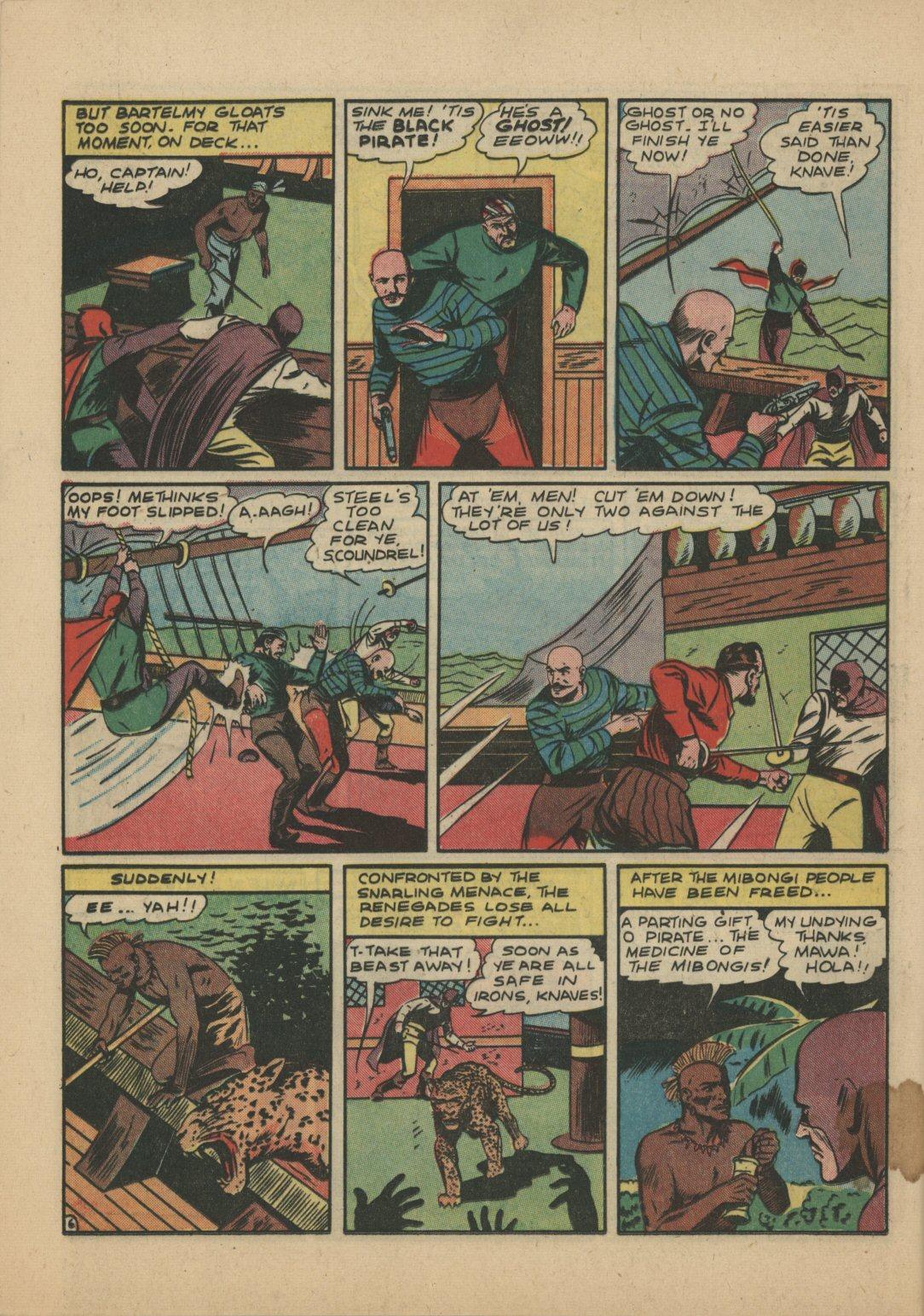 Read online Sensation (Mystery) Comics comic -  Issue #21 - 21