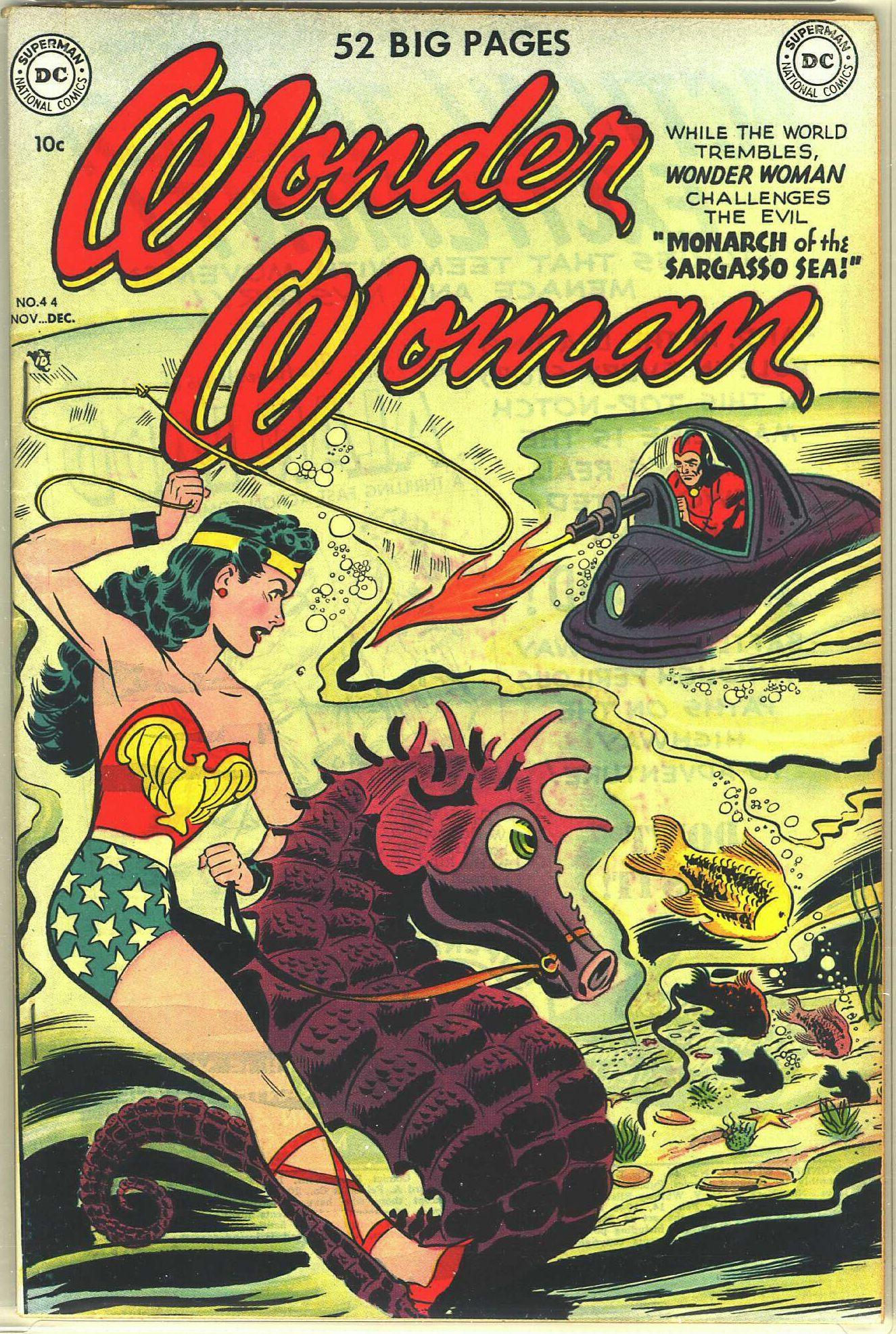 Read online Wonder Woman (1942) comic -  Issue #44 - 1